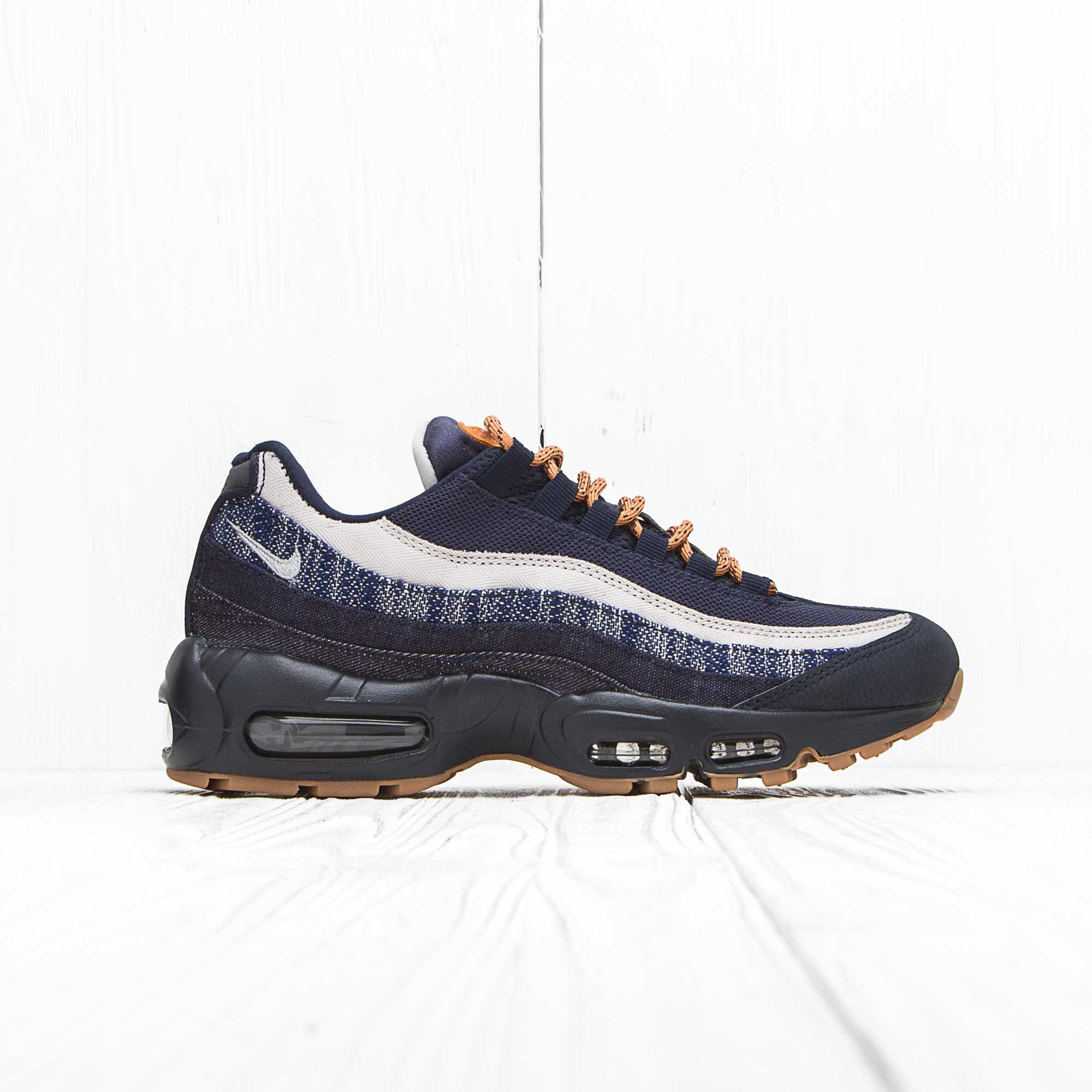 Кроссовки Nike AIR MAX 95 PRM Dark Obsidian/Granite-Gum Light Brown