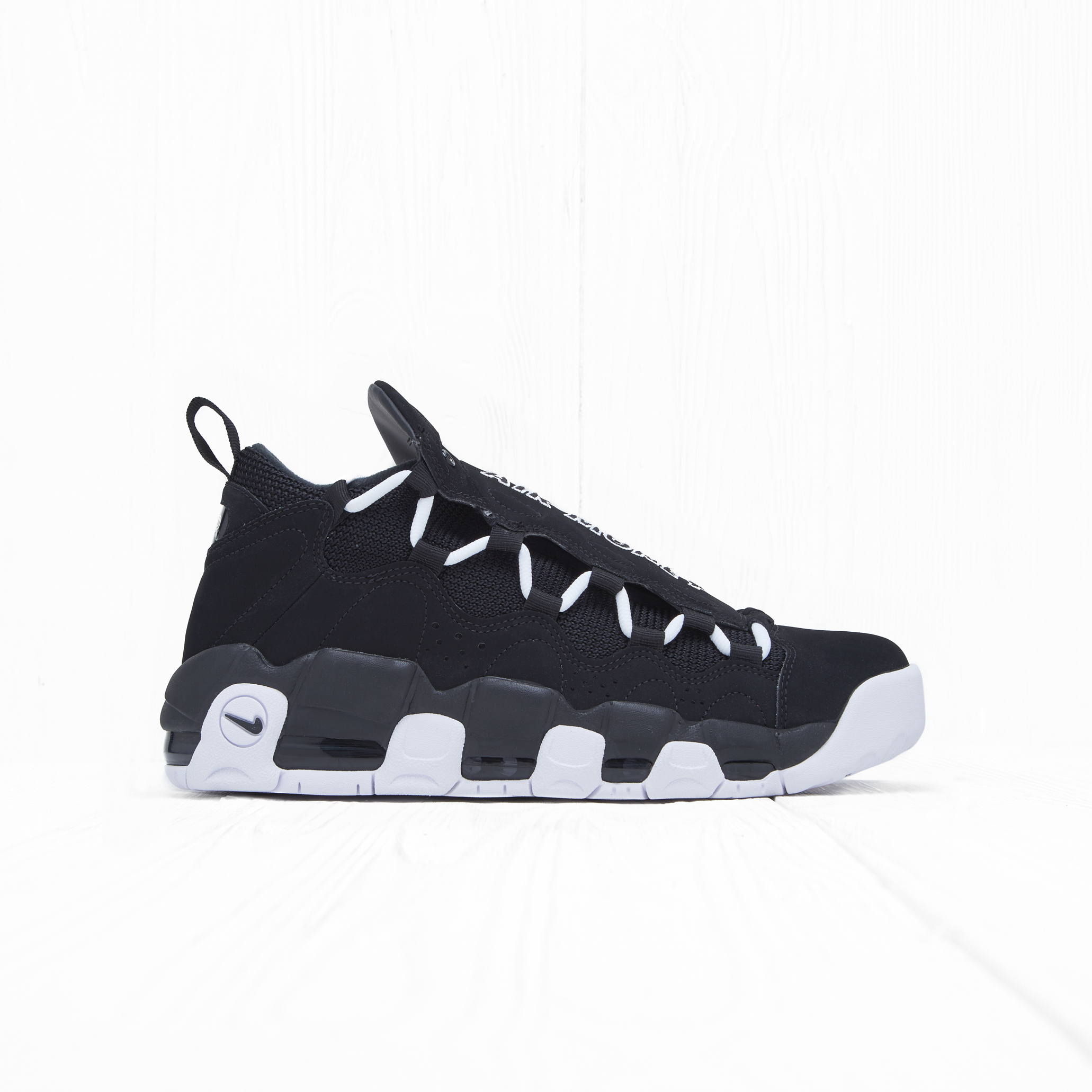 Кроссовки Nike AIR MORE MONEY Black/White-Black