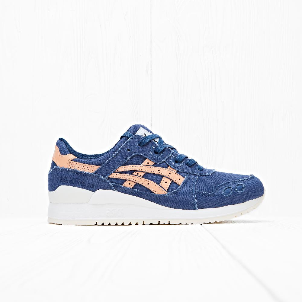 Кроссовки Asics Tiger GEL-LYTE III Indigo Blue/Tan