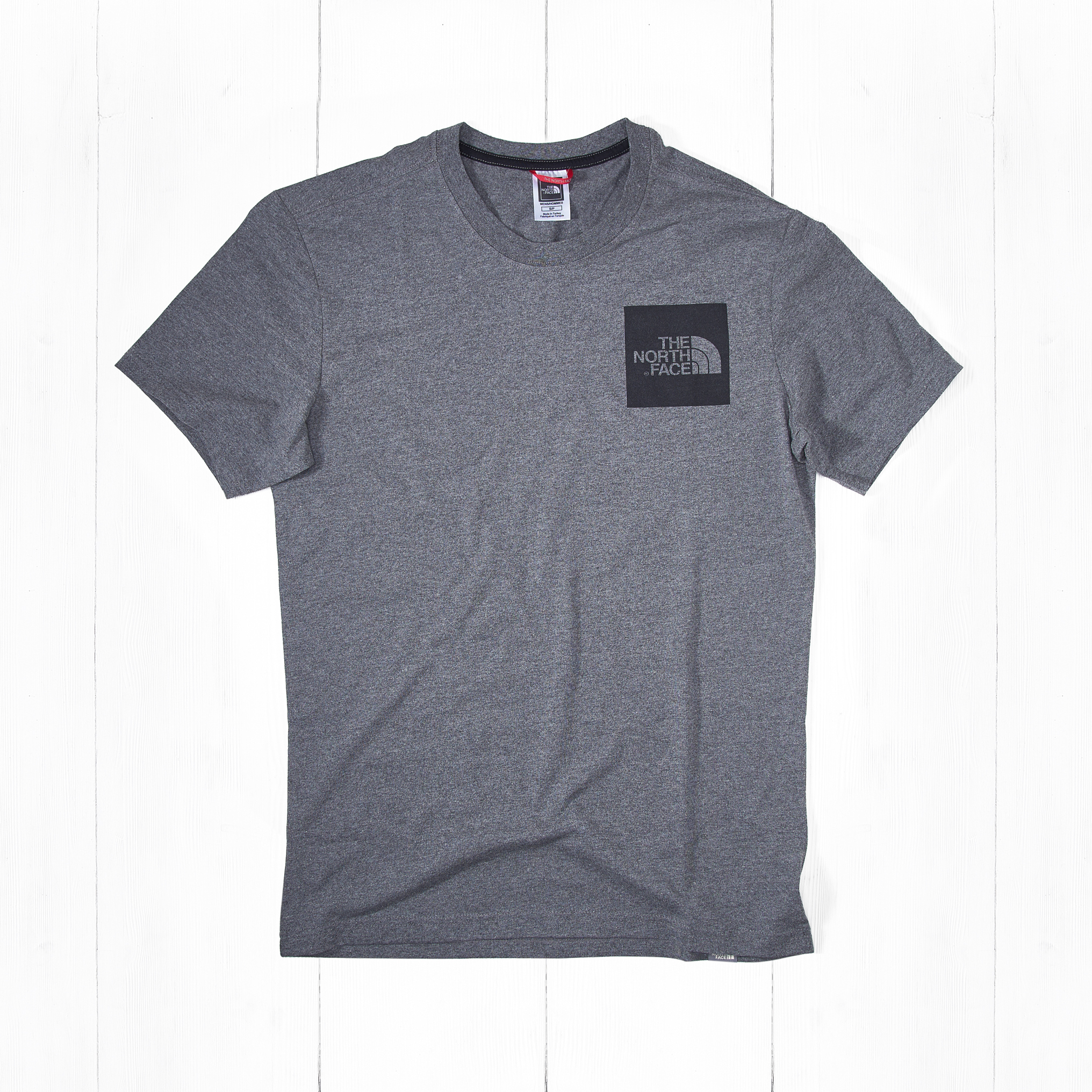 Футболка The North Face S/S FINE Grey Heather