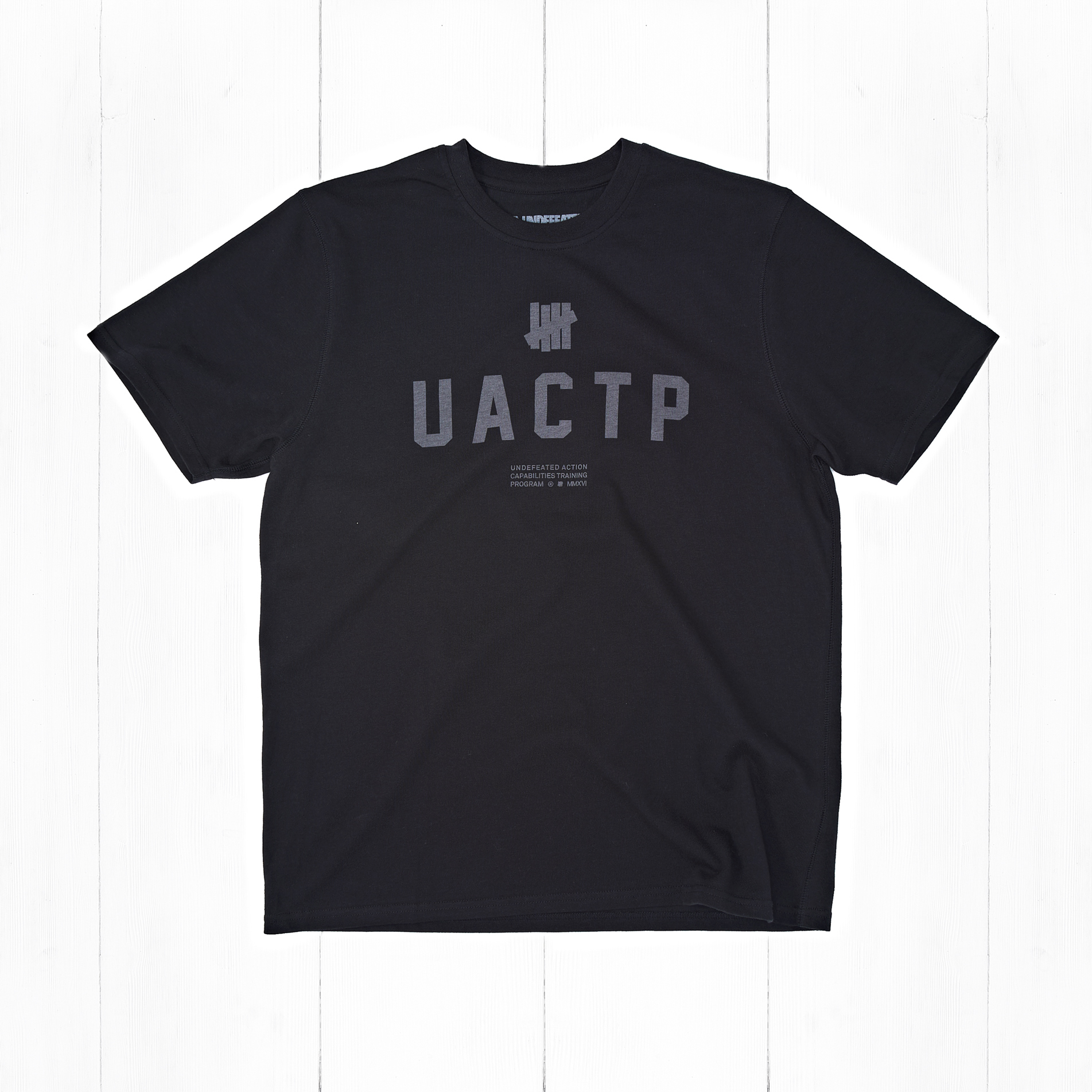 Футболка Undefeated UACTP SS TECH Black