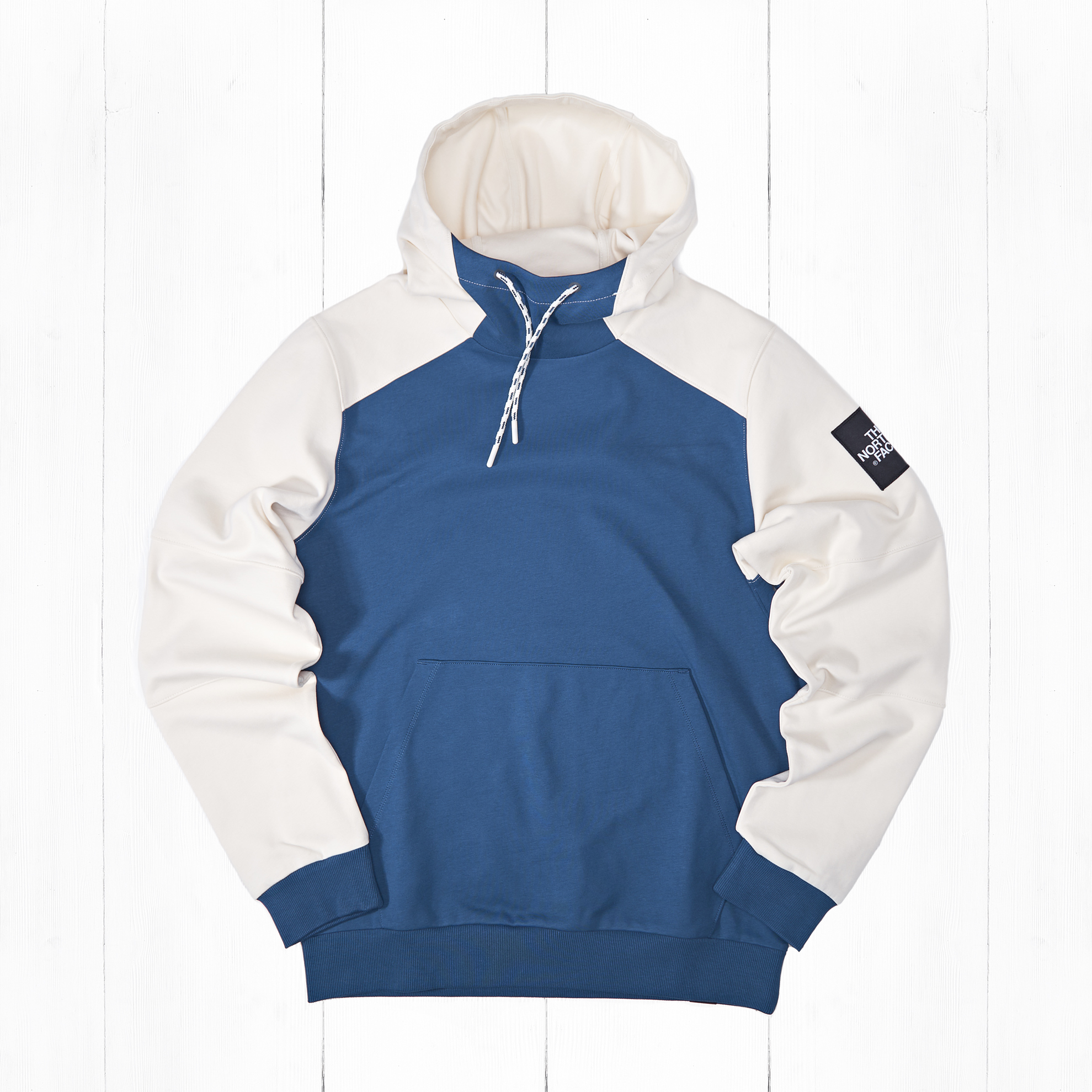 Толстовка The North Face FINE BOX HD Blue Wing/Vintage Wite