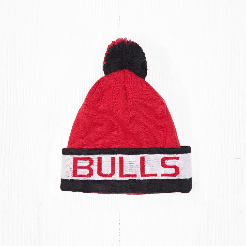 Шапка M&N NBA CHICAGO BULLS Red/White