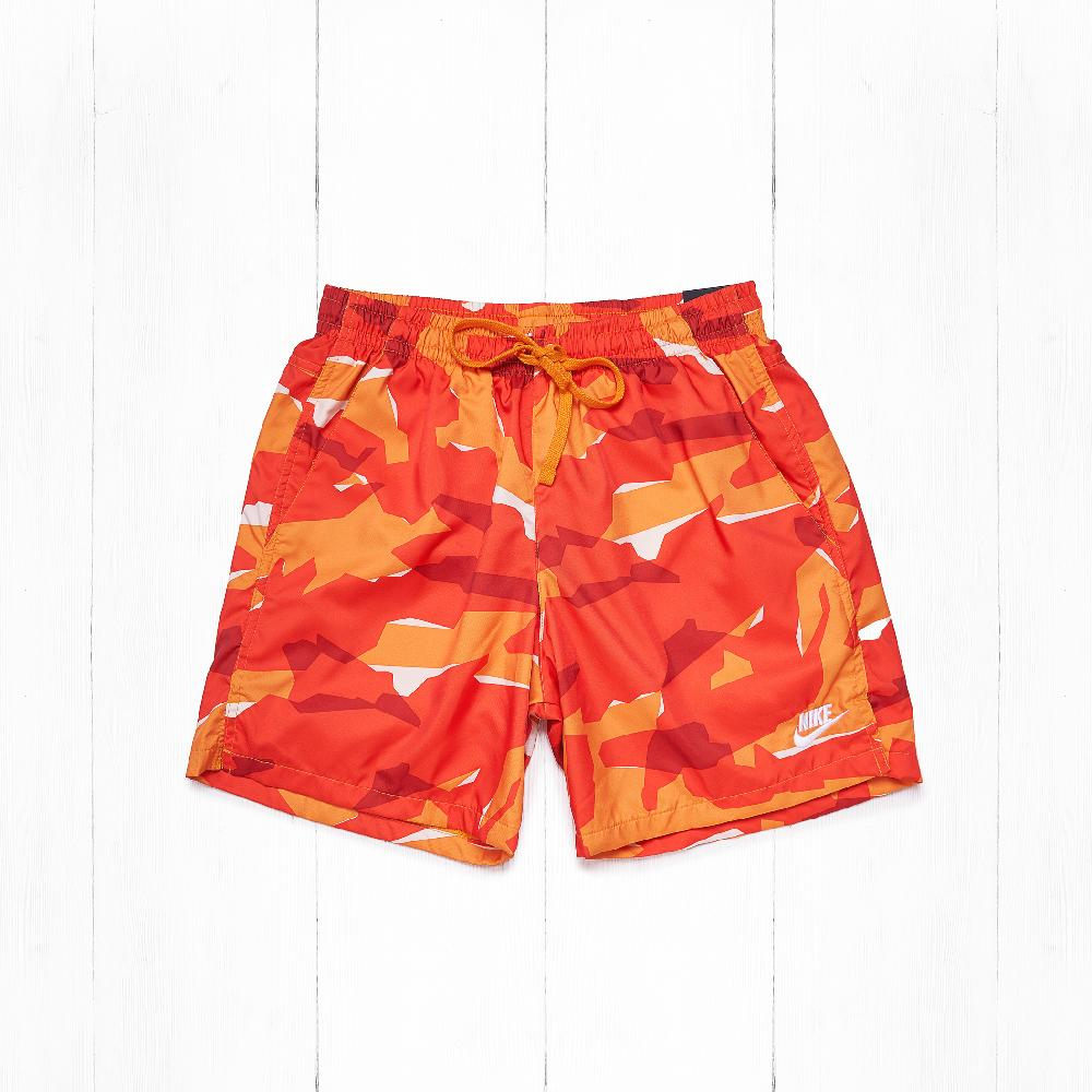 Шорты Nike SHORT CE WVN Camo Orange