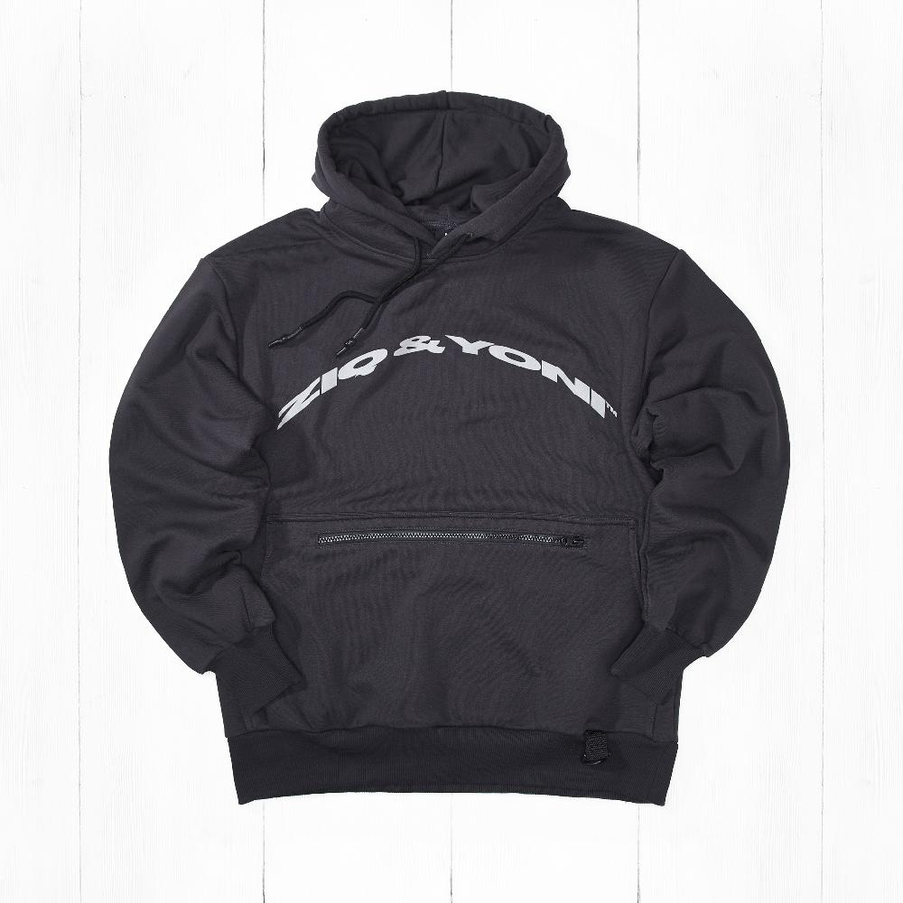 Толстовка Ziq & Yoni TECH ZIP POCKET AW18 Grey