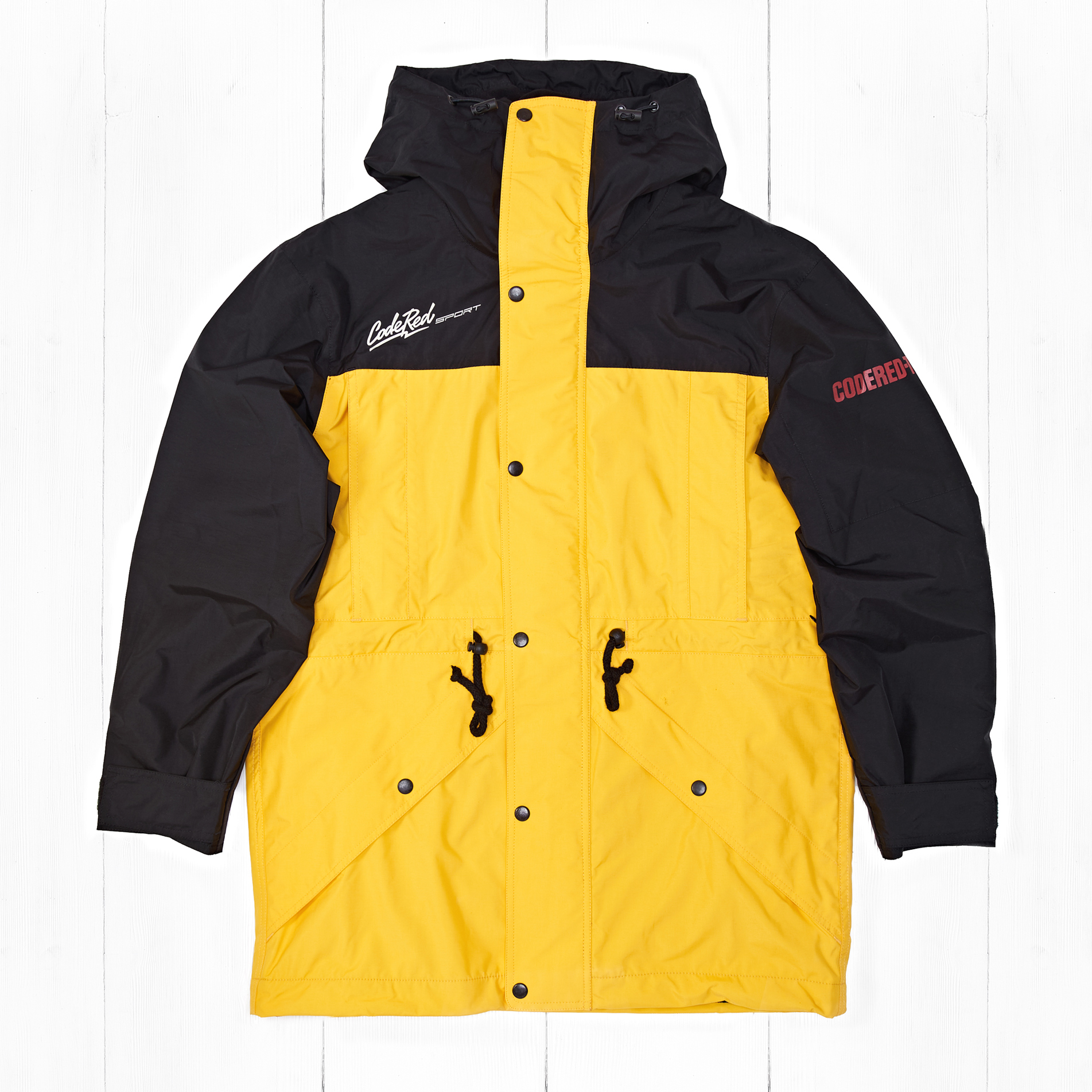 Куртка CodeRed Sport LEGACY Black/Yellow