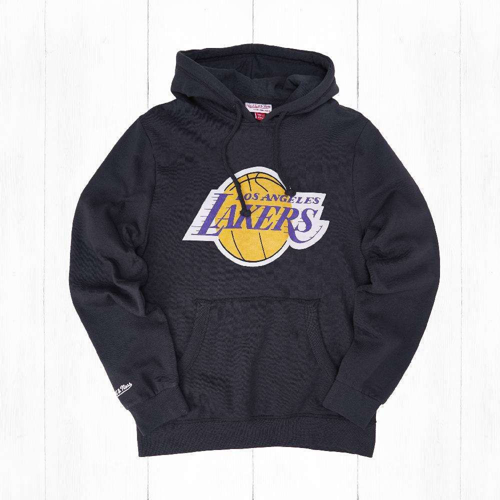 Толстовка Mitchell & Ness TEAM LOGO HOODY NBA LOS ANGELES LAKERS Black