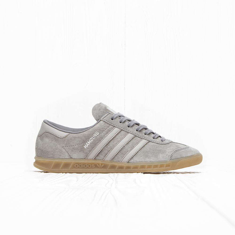 Кроссовки Adidas HAMBURG Clear Granite/Clear Grey/Gum