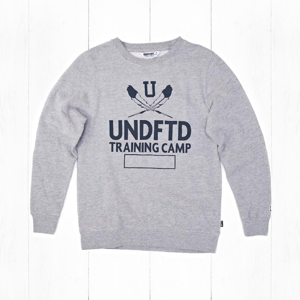 Свитшот Undefeated TRAINING CAMP CREW Grey Heather