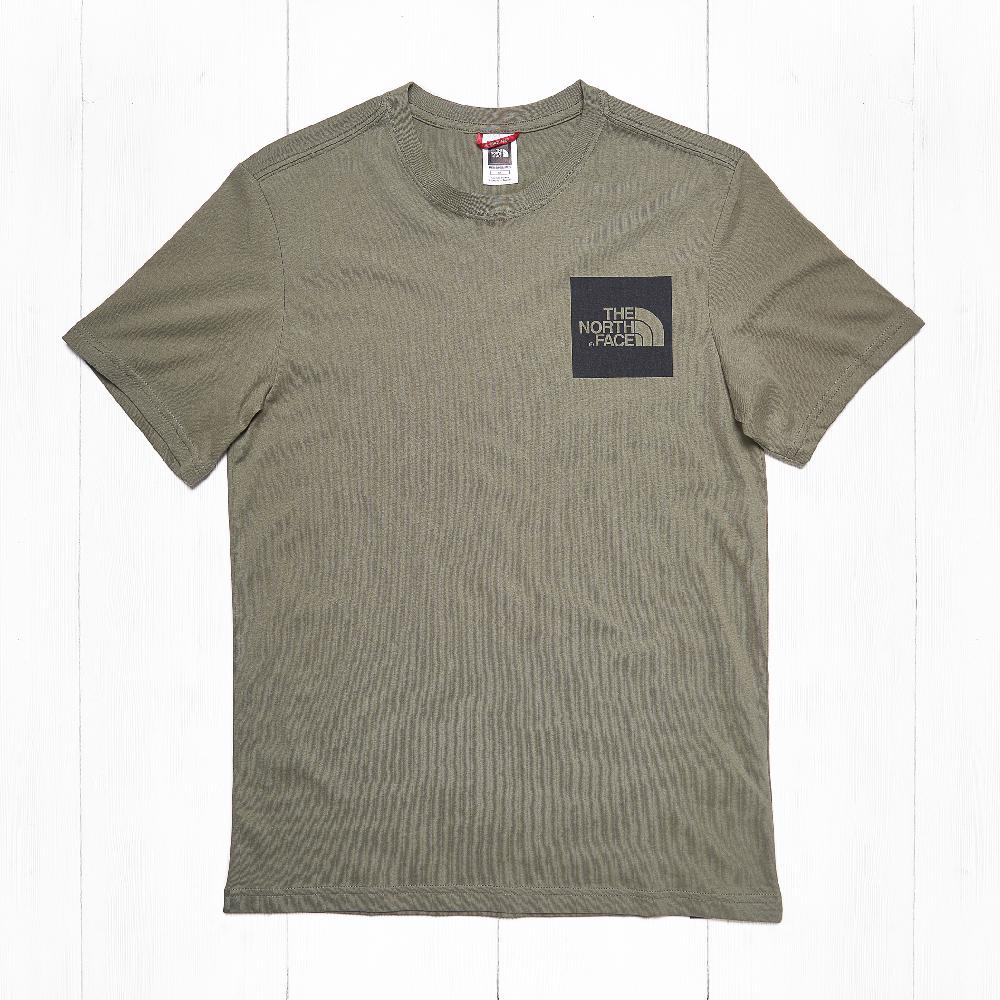 Футболка The North Face S/S FINE Deep Lich Green