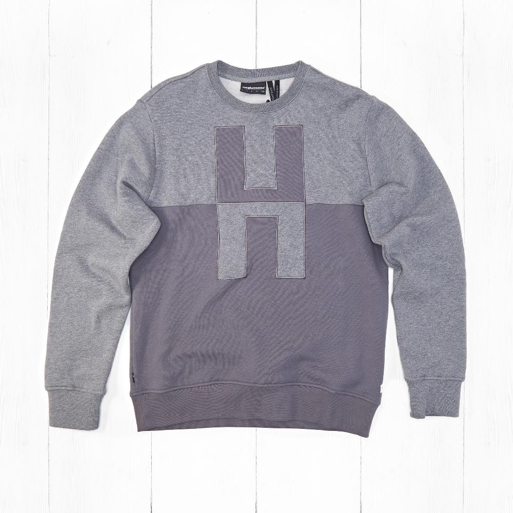 Свитшот The Hundreds COUNTER Athletic Heather