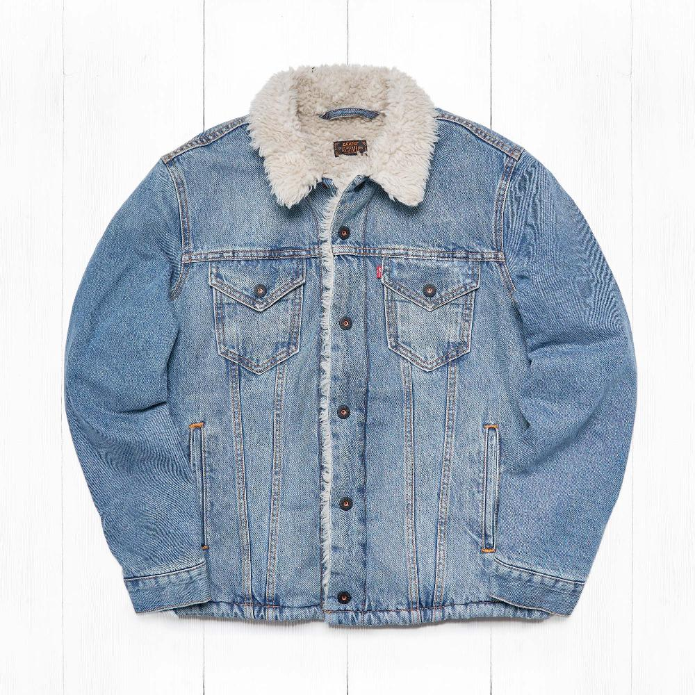 Куртка Levi's THE SHERPA TRUCKER Se Kezar