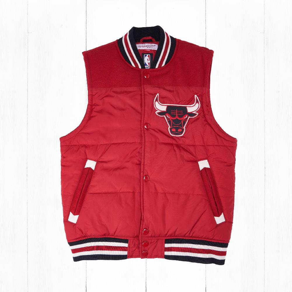 Жилет Mitchell & Ness CHICAGO BULLS TITLE HOLDER VEST Red