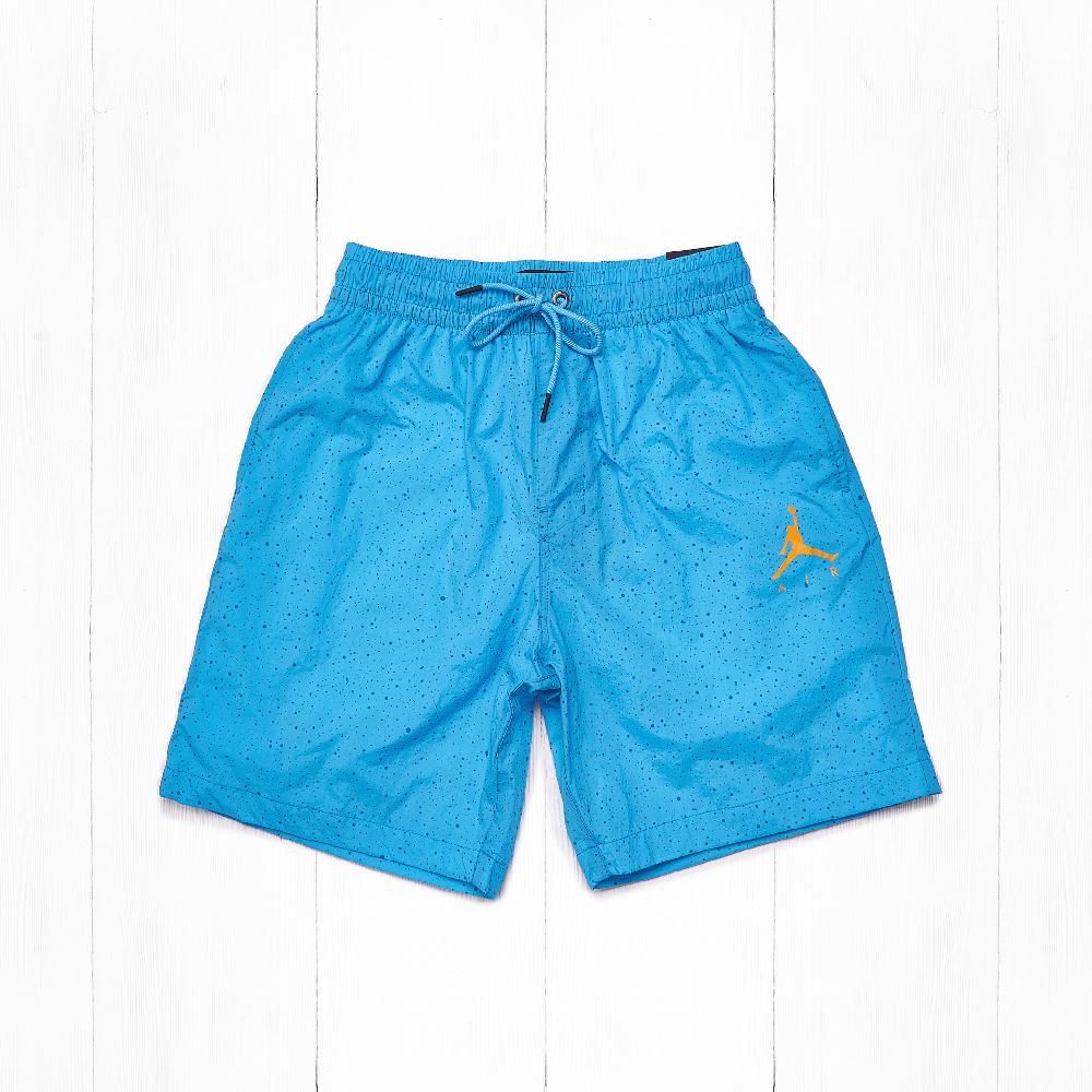 "Шорты Jordan CEMENT POOLSIDE 7"" Light Blue Fury/Gold"