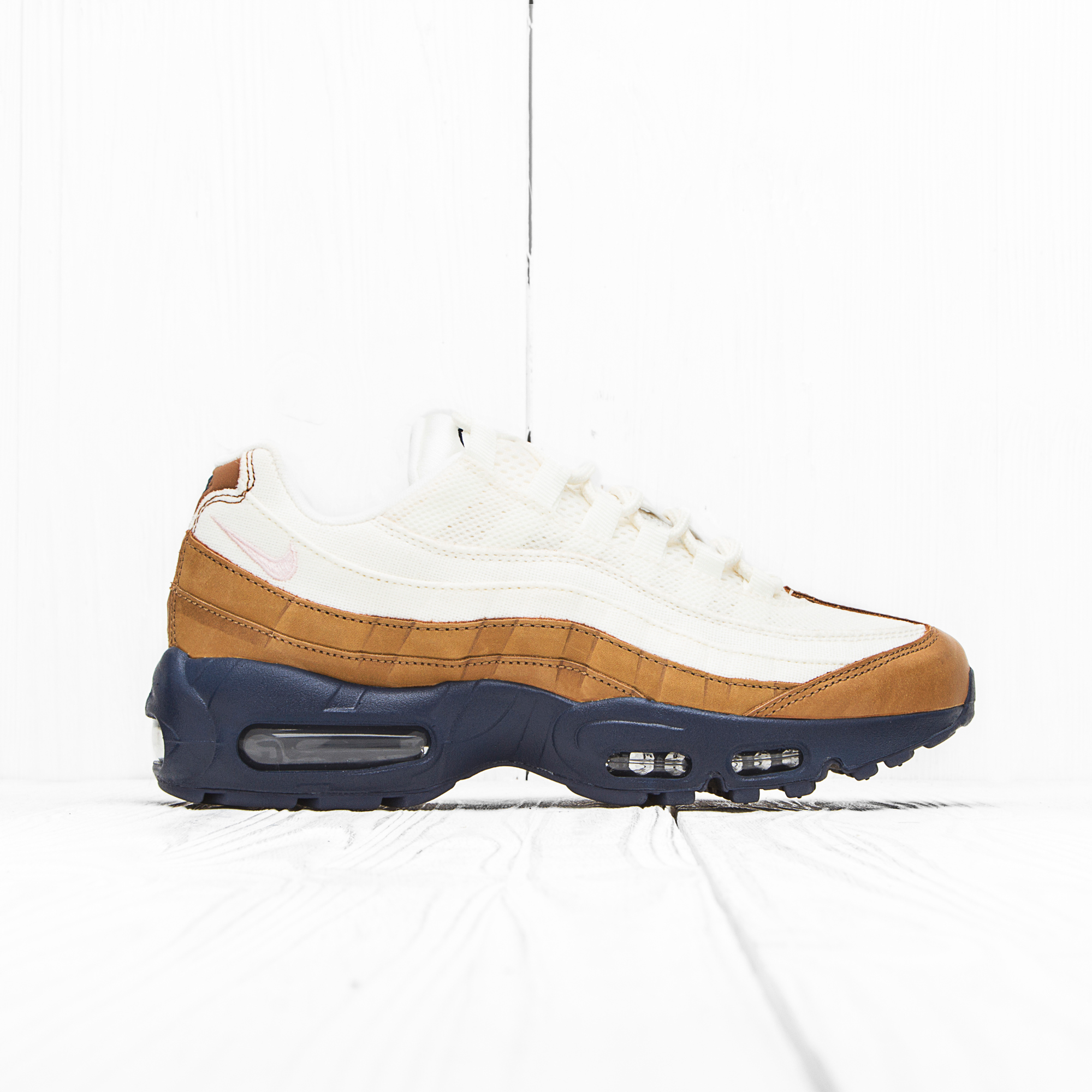 Кроссовки Nike AIR MAX 95 PRM Ale Brown/Midnight Navy/Sail/Pearl Pink