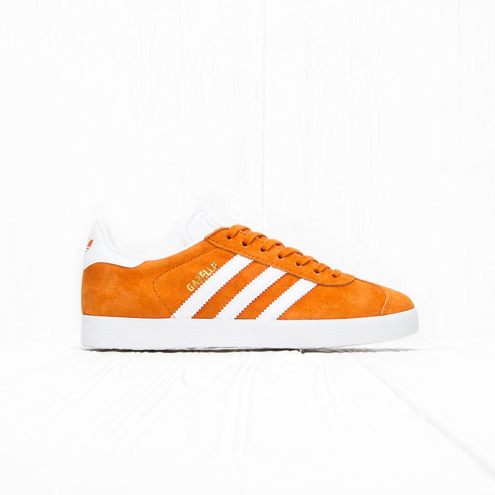 Кроссовки Adidas GAZELLE Unity Orange F16/White/Gold Met