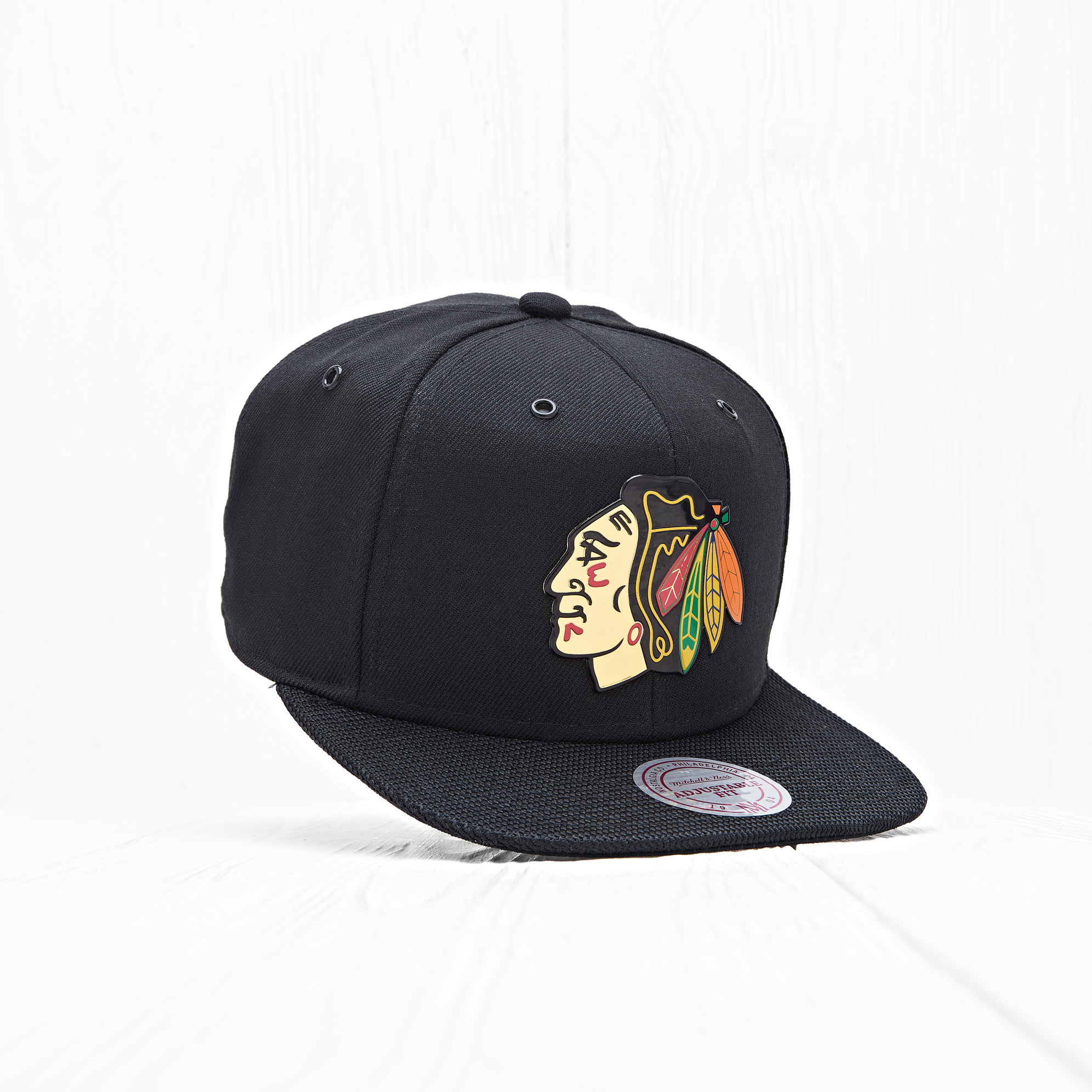 Снепбек Mitchell & Ness NHL CHICAGO BLACKHAWKS Carat Black