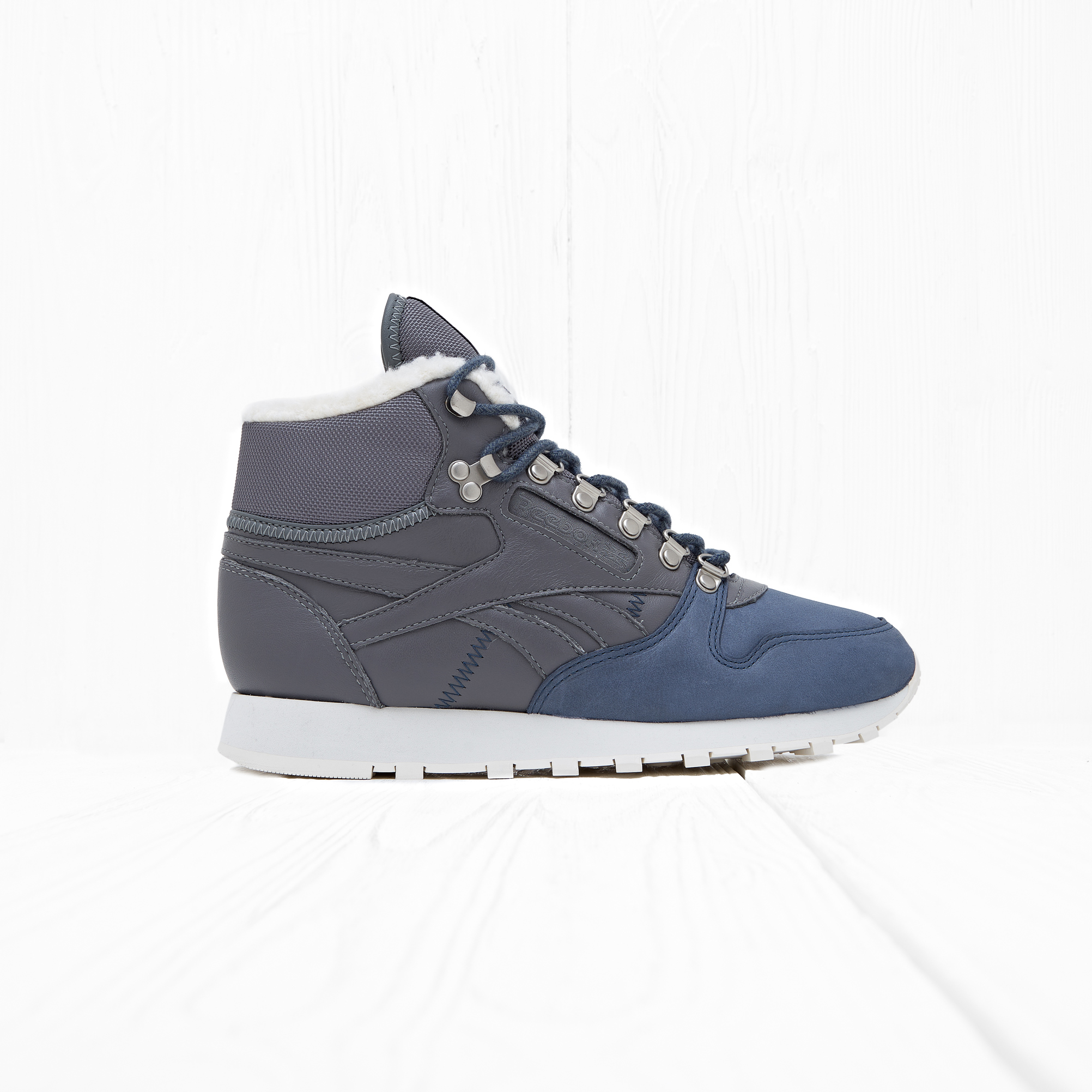 Кроссовки Reebok CLASSIC LEATHER SHERPA Blue