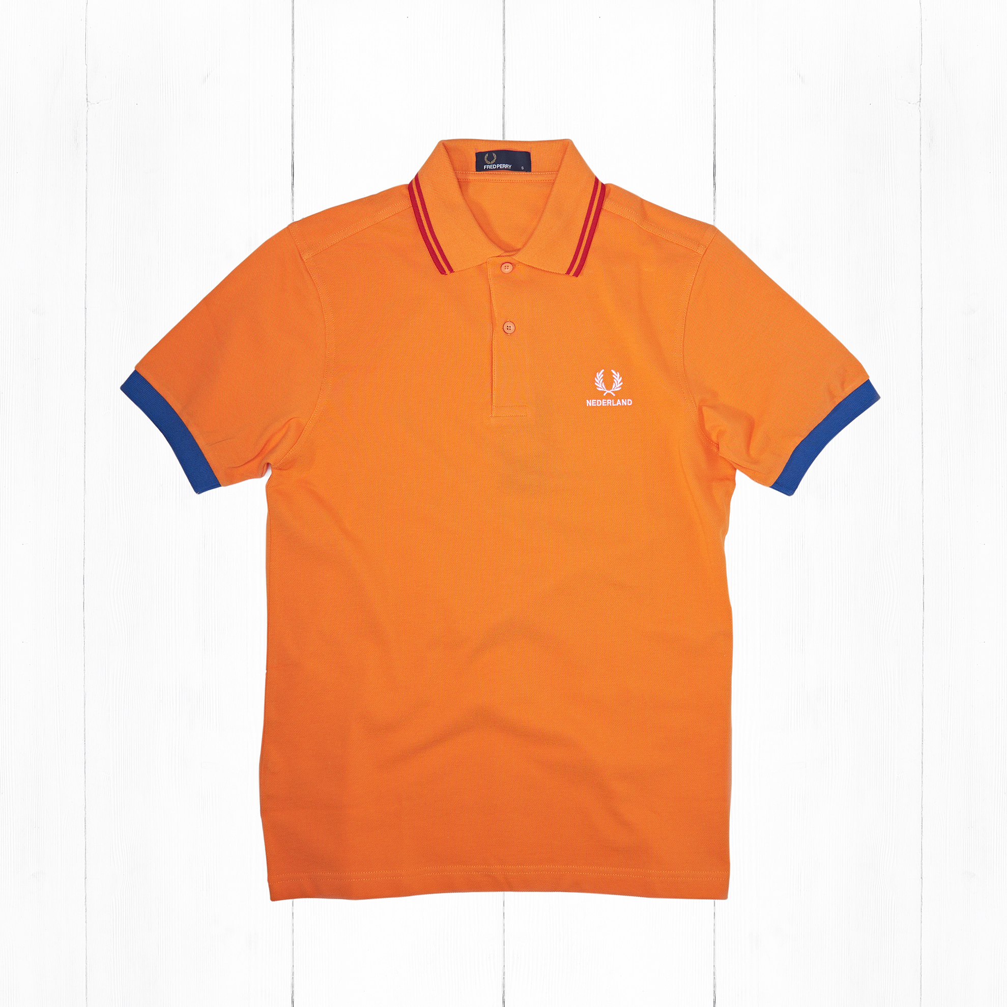 Поло Fred Perry COUNTRY SHIRT NEDERLAND Orange