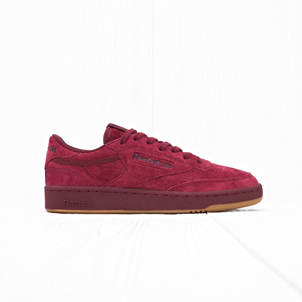 Кроссовки Reebok CLUB C 85 TG Collegiate Burgundy/Dark Red/Gum