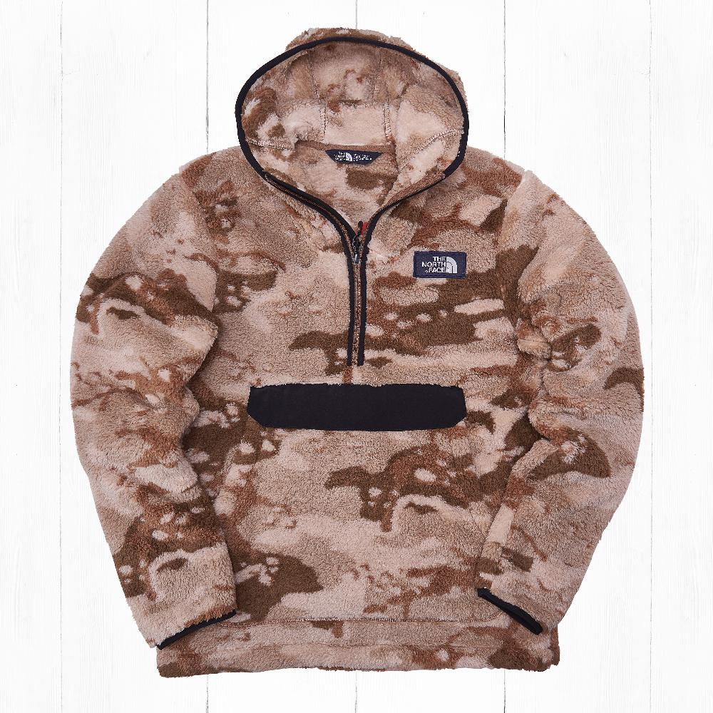 Анорак The North Face CAMPSHIRE FLEECE Khaki Camo
