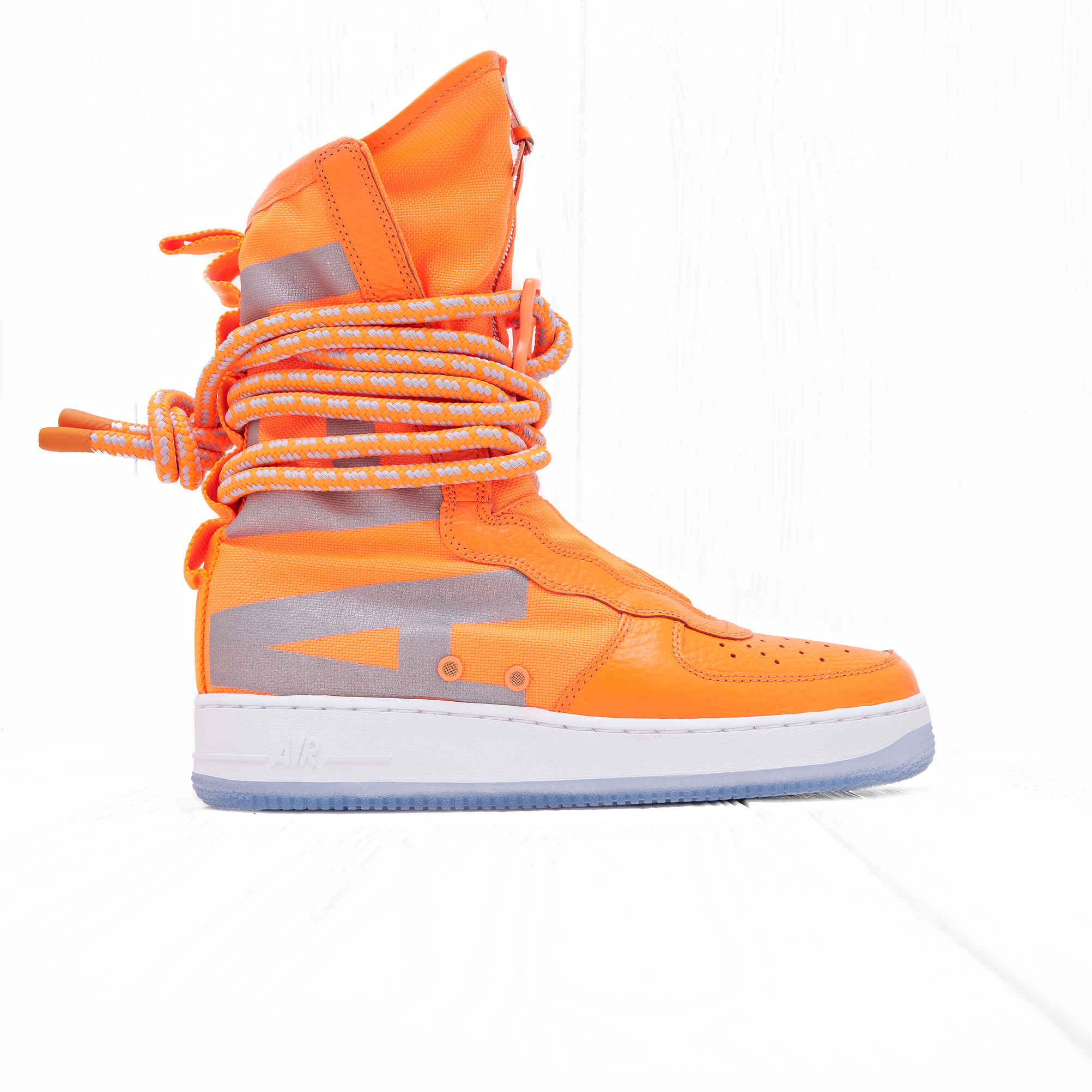 Кроссовки Nike SF AF1 HI Total Orange/Total Orange