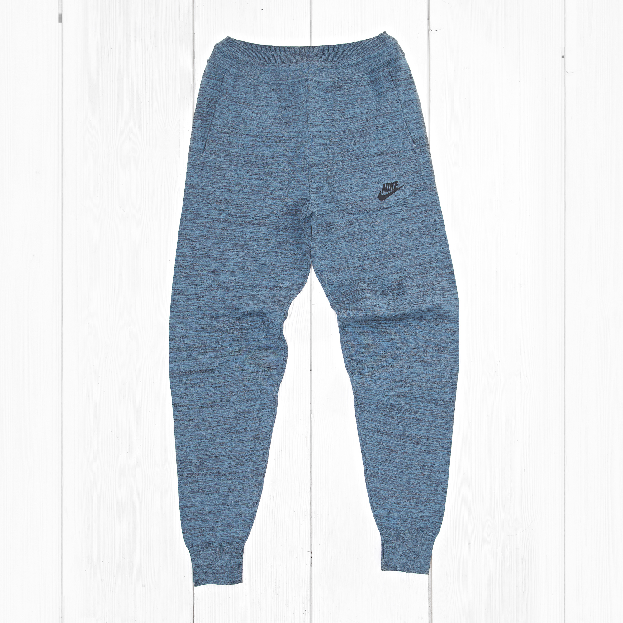 Спортивные брюки Nike W TECH KNIT Squadron Blue/Black