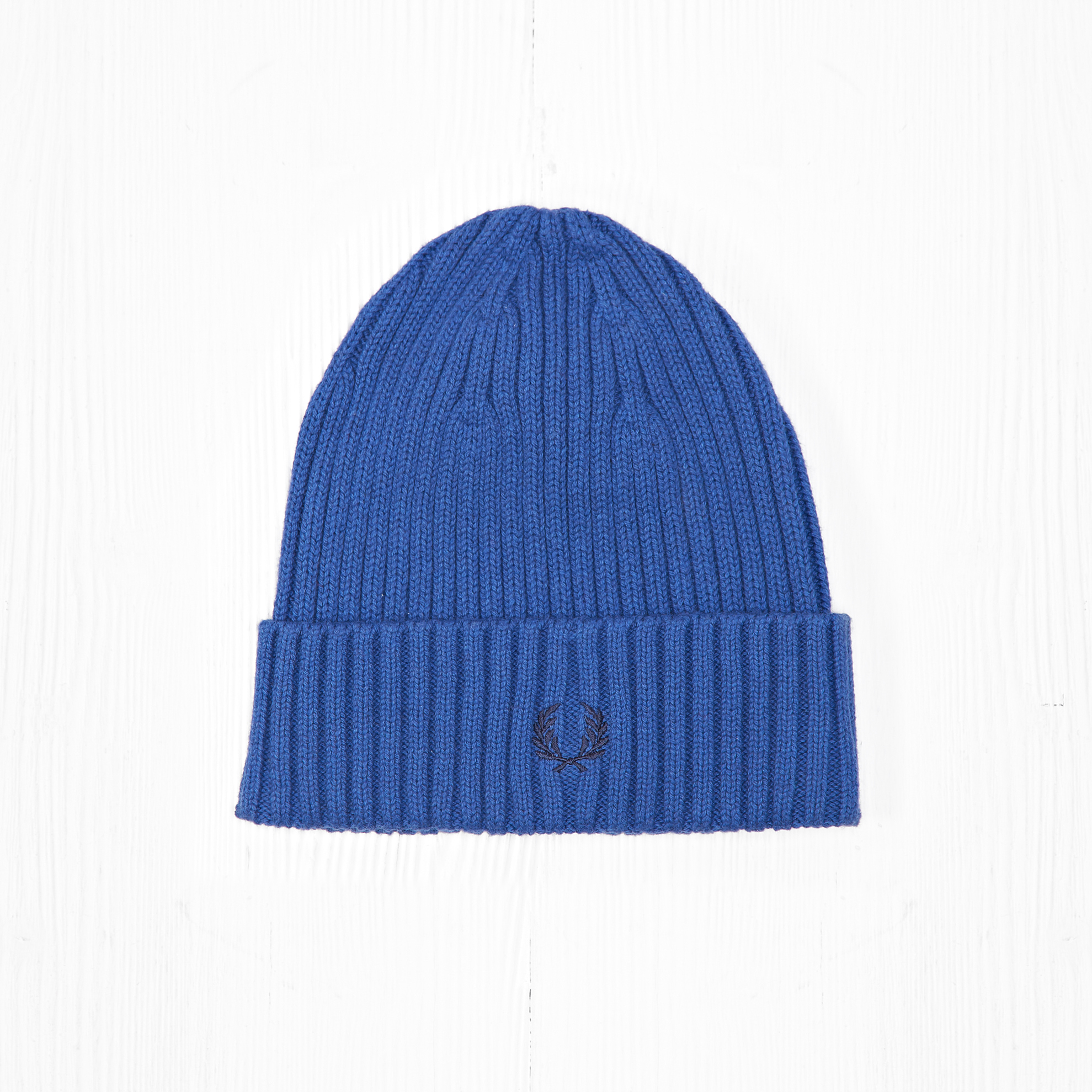 Шапка Fred Perry RIBBED Blue