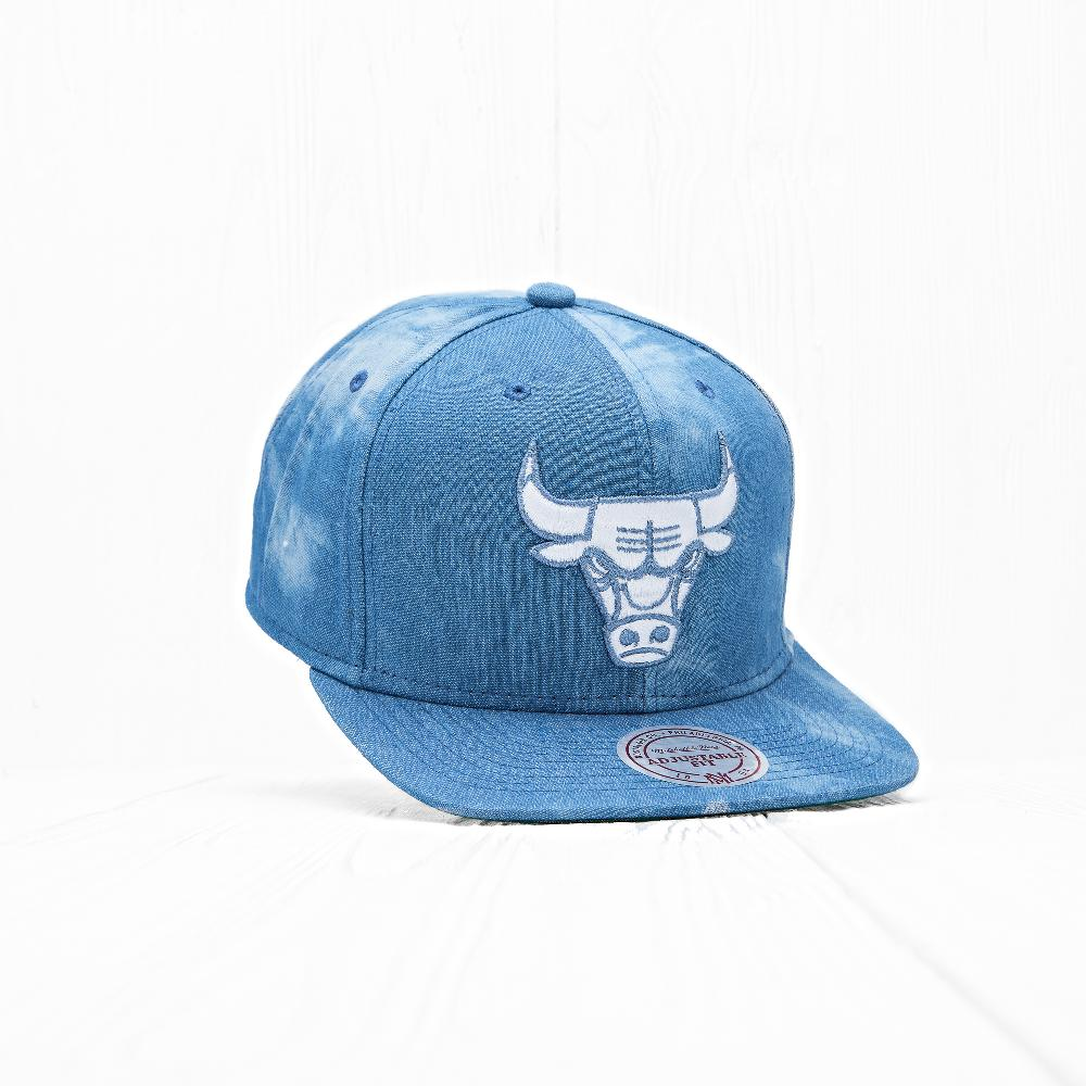 Снепбек Mitchell & Ness NBA CHICAGO BULLS Blue Sky