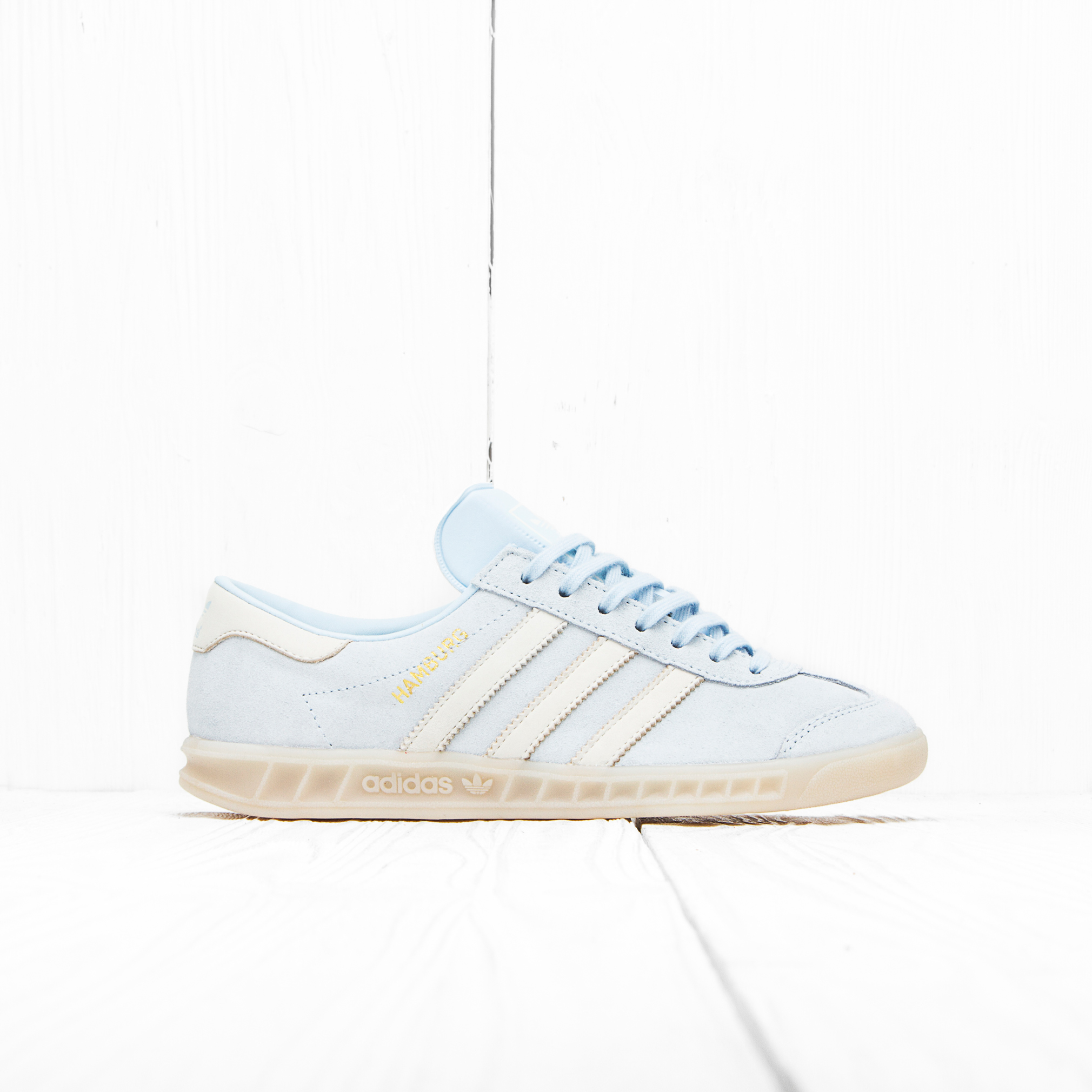 Кроссовки Adidas W HAMBURG Ice Blue F16/Off White/Off White