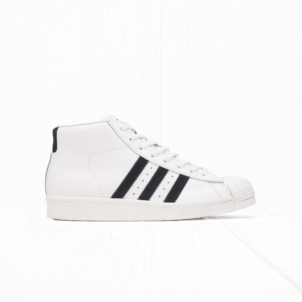 Кроссовки Adidas PRO MODEL VINTAGE DLX Off White/Core Black/Off White