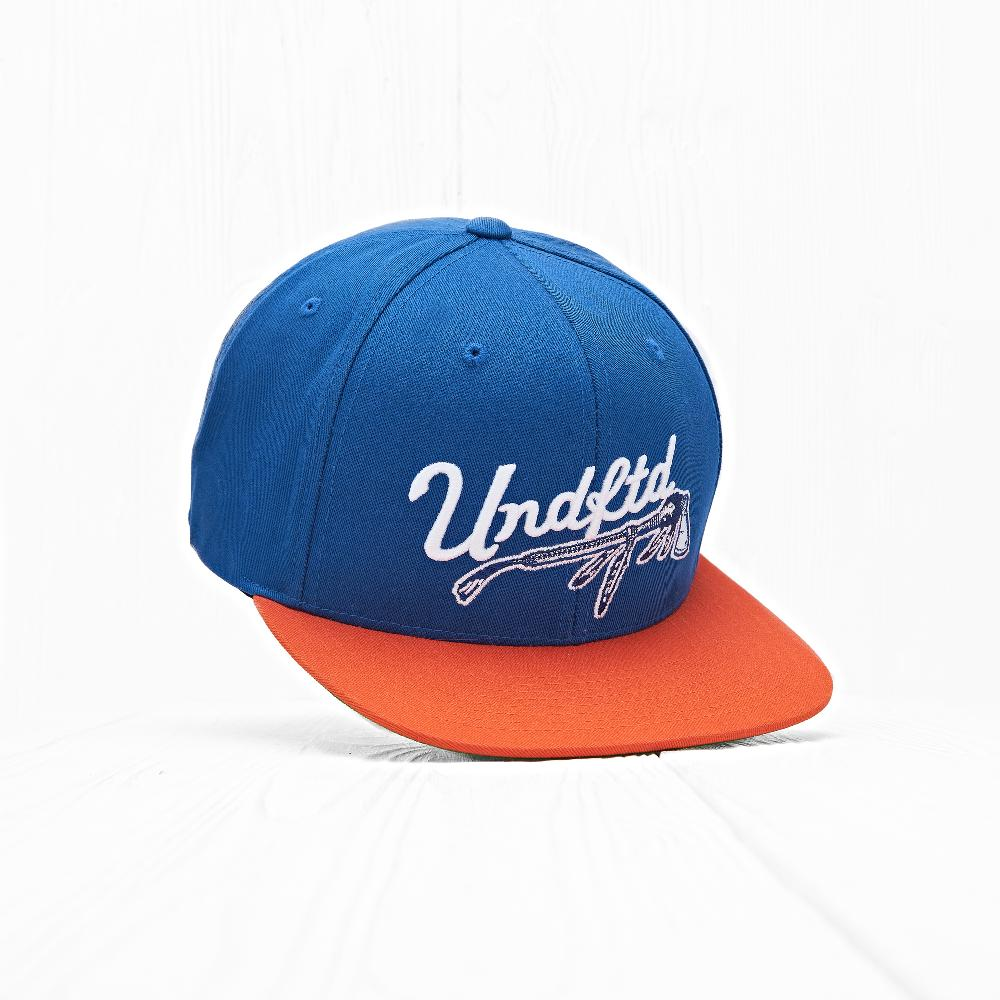 Бейсболка Undefeated WAR PAINT CAP Blue