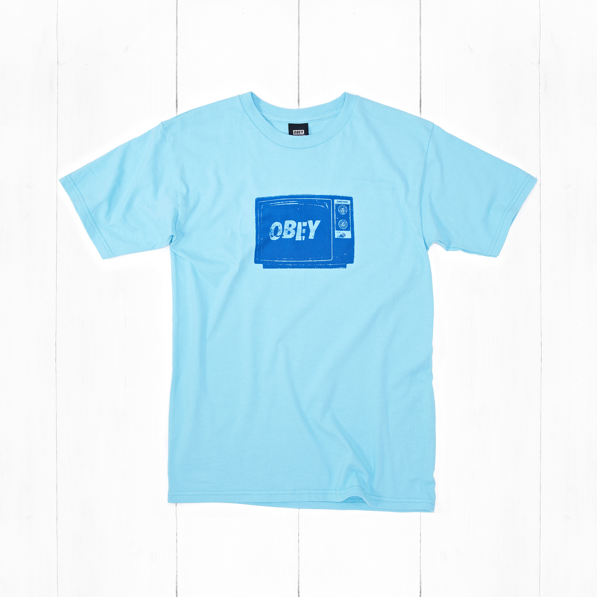 Футболка Obey WHAT TO THINK Pacific Blue