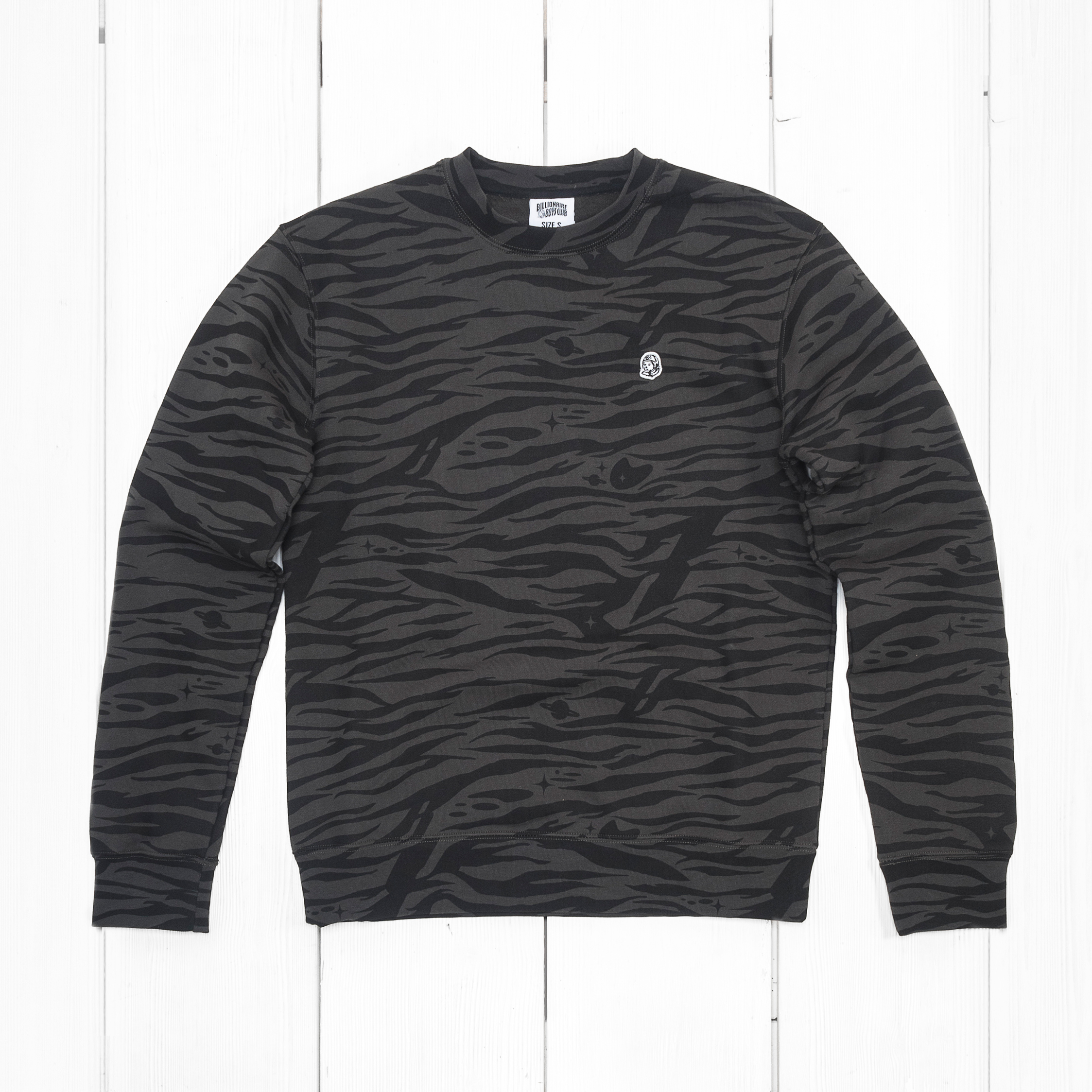 Свитшот BBC ZEBRA CAMO ALL OVER Charcoal