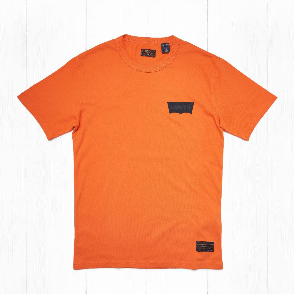 Футболки Levi's SKATE GRAPHIC Lcs Orange Core