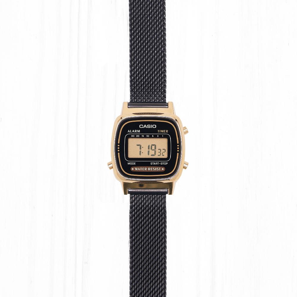 Часы Casio STANDARD (LA670WEMB-1E) Gold-Black