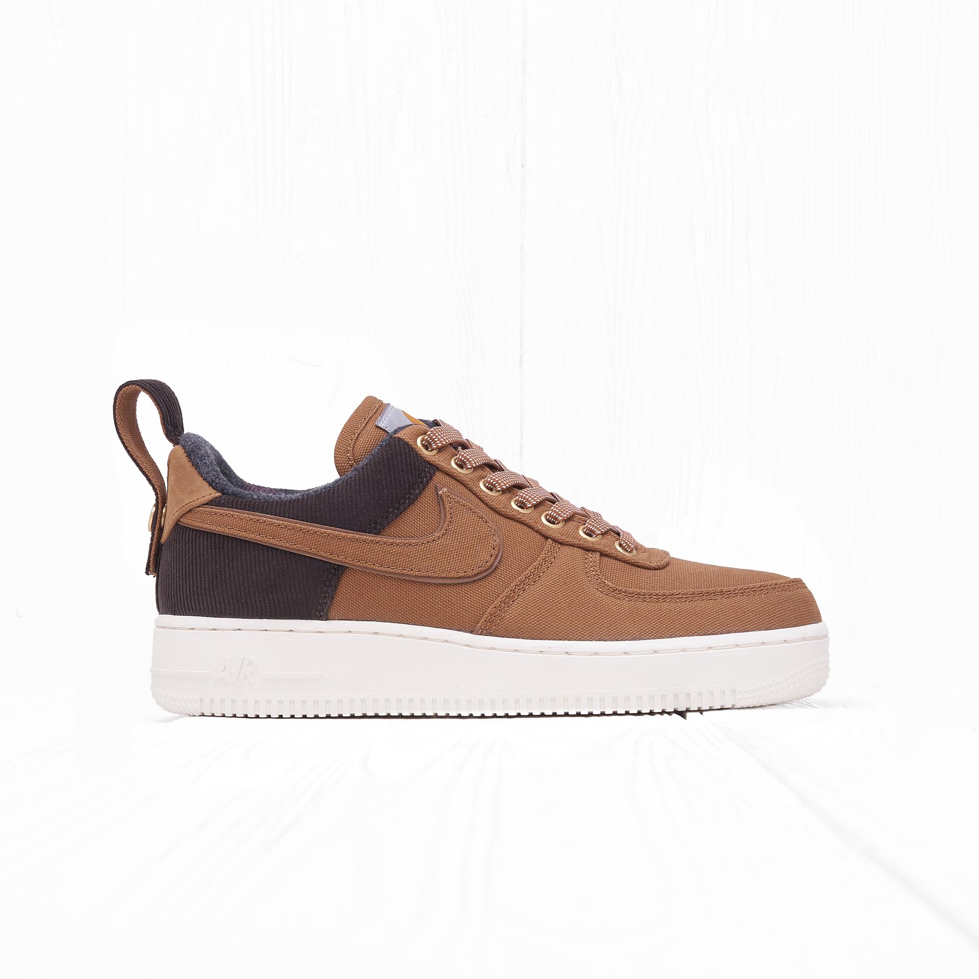 Кроссовки Nike x Carhartt WIP AIR FORCE 1 07 PRM Ale Brown/Ale Brown/Sail