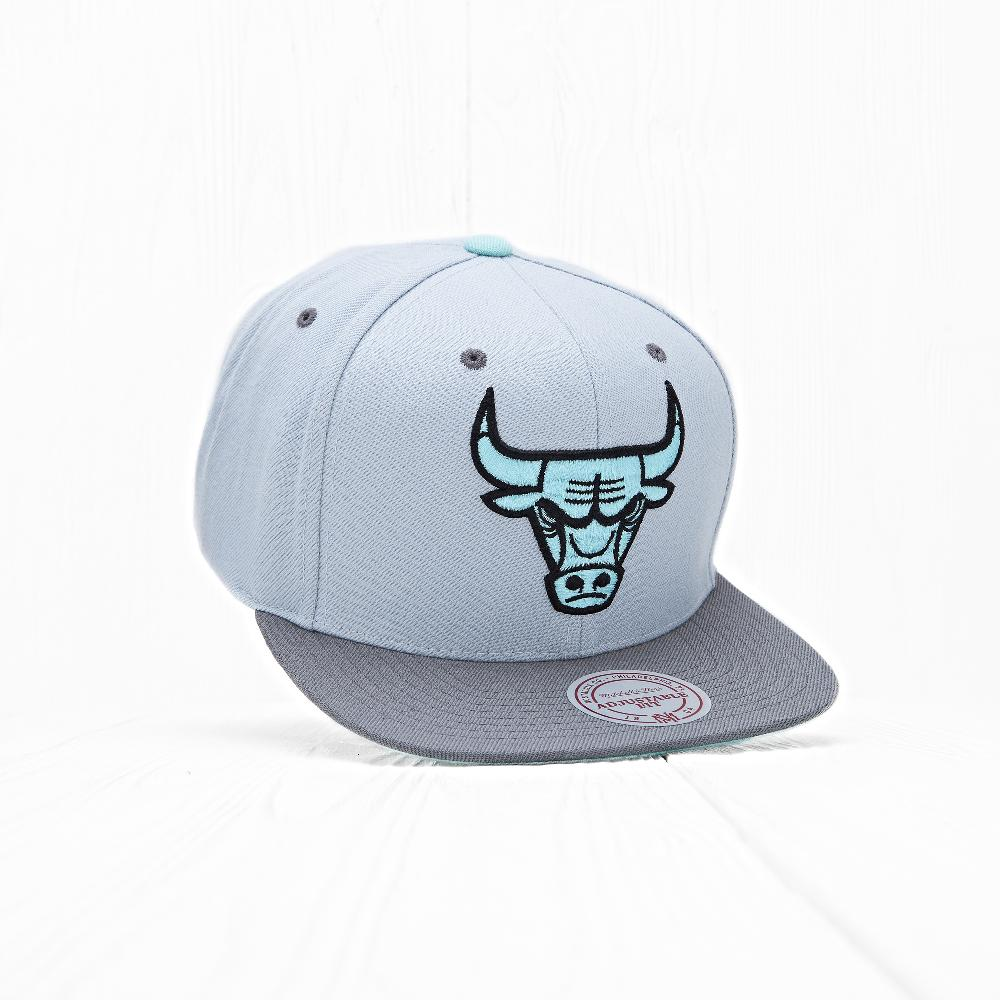 Снепбек Mitchell & Ness NBA CHICAGO BULLS Silver/Grey