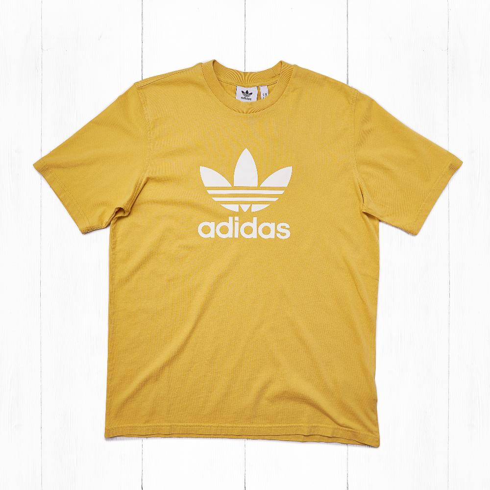 Футболка Adidas TREFOIL Yellow