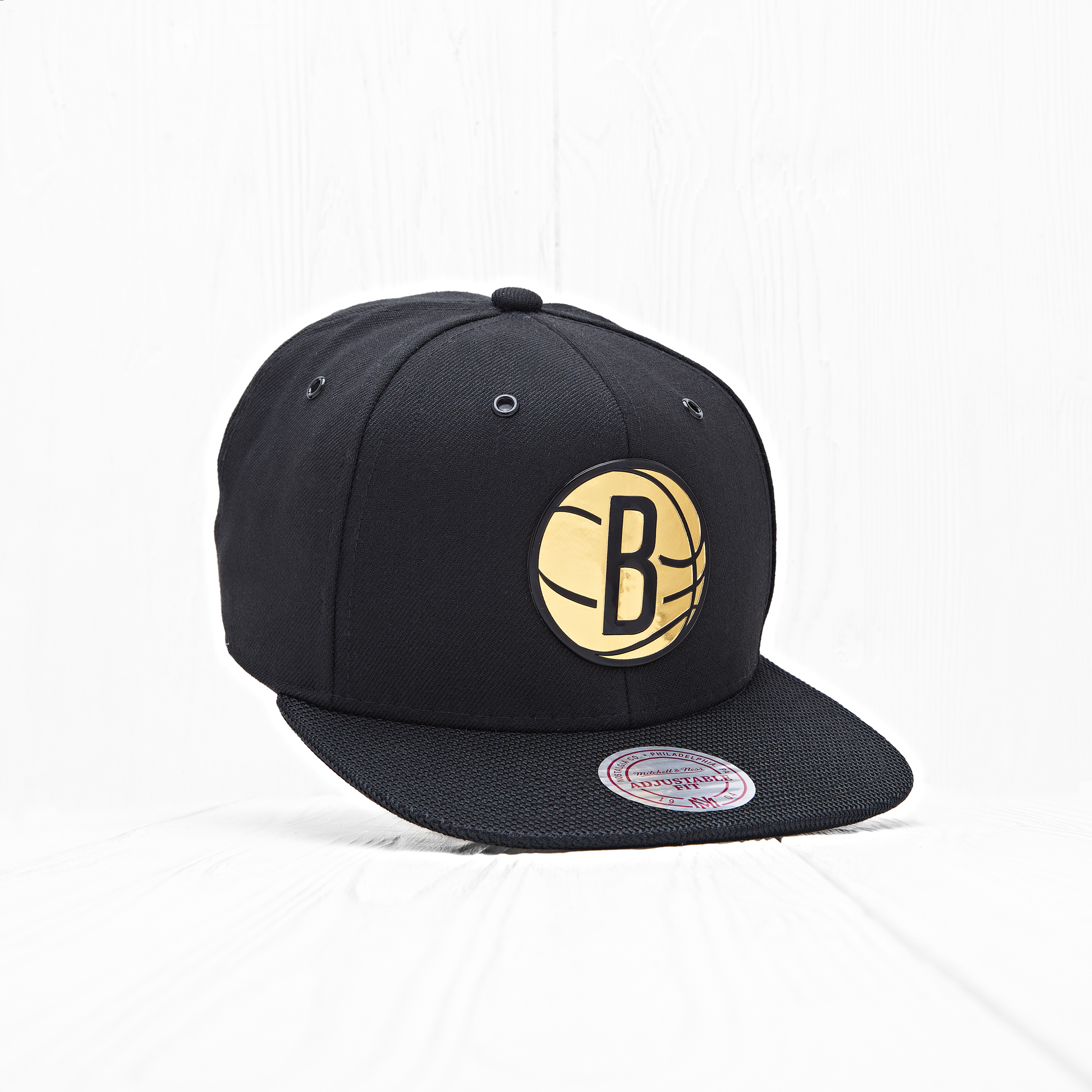 Снепбек Mitchell & Ness NBA BROOKLYN NETS Carat Black