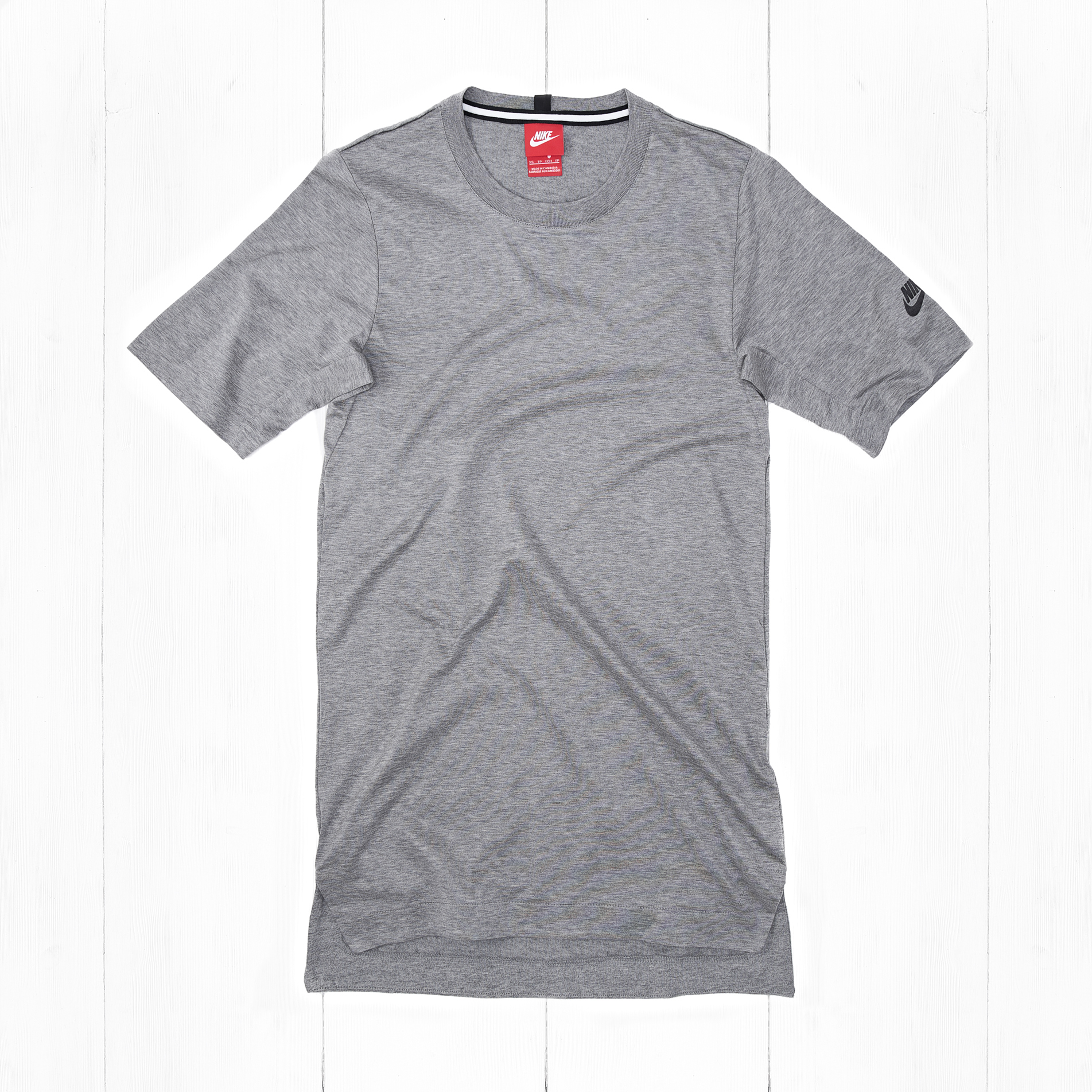 Футболка Nike MODERN TOP SS KNT Grey