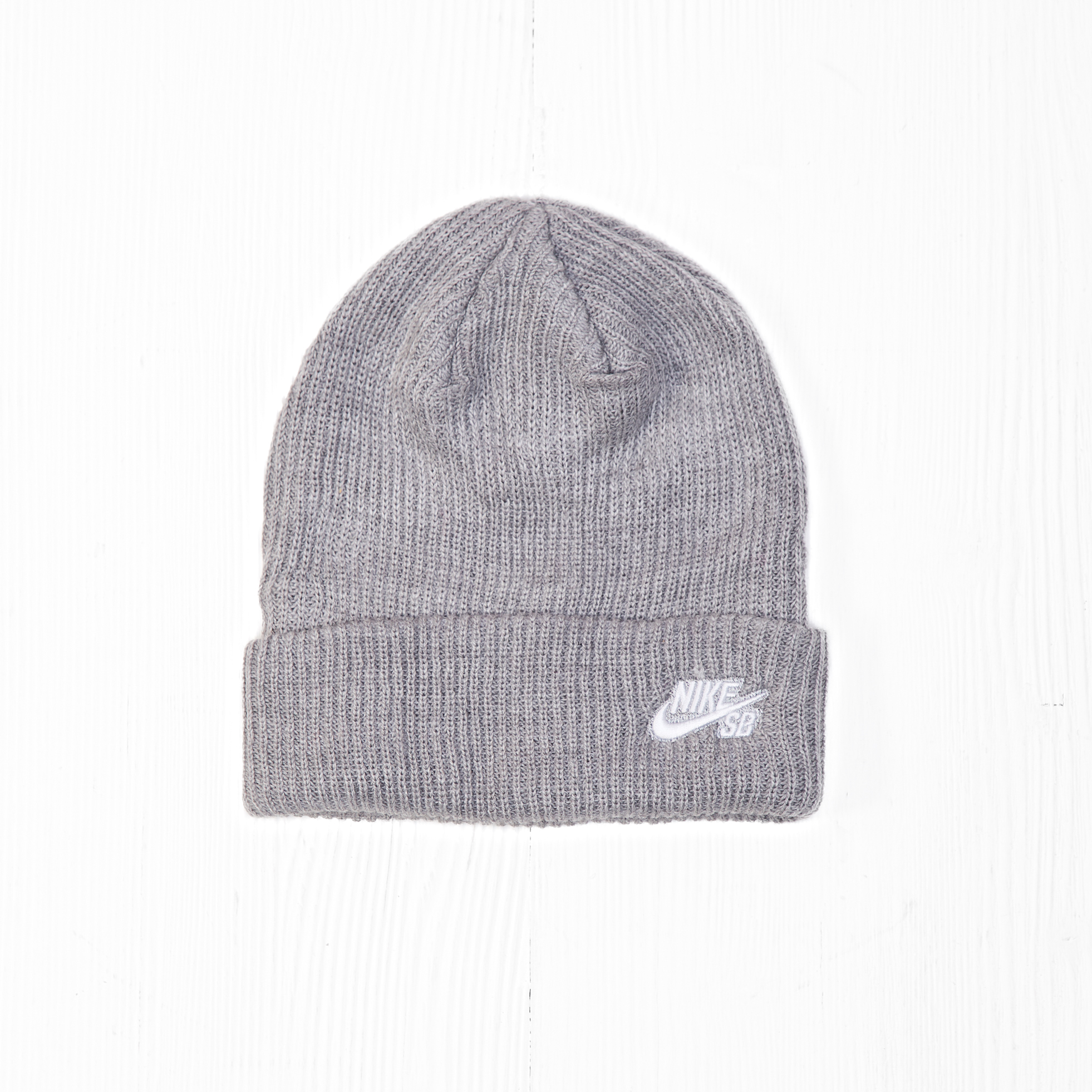 Шапка Nike SB FISHERMAN BEANIE Heather Grey