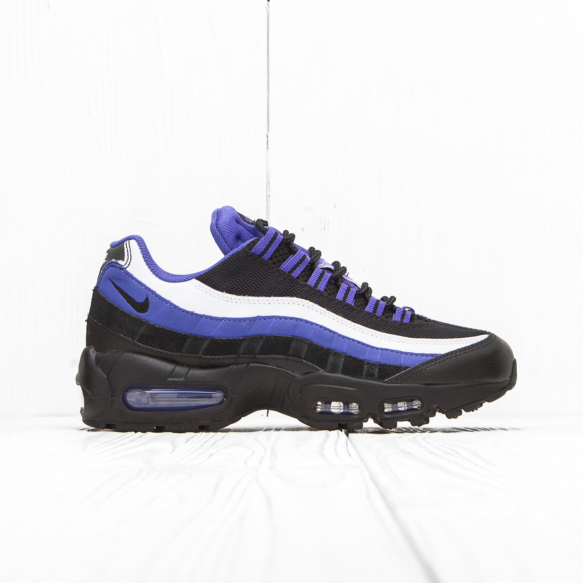 Кроссовки Nike AIR MAX 95 ESSENTIAL Black/Persian Violet-White