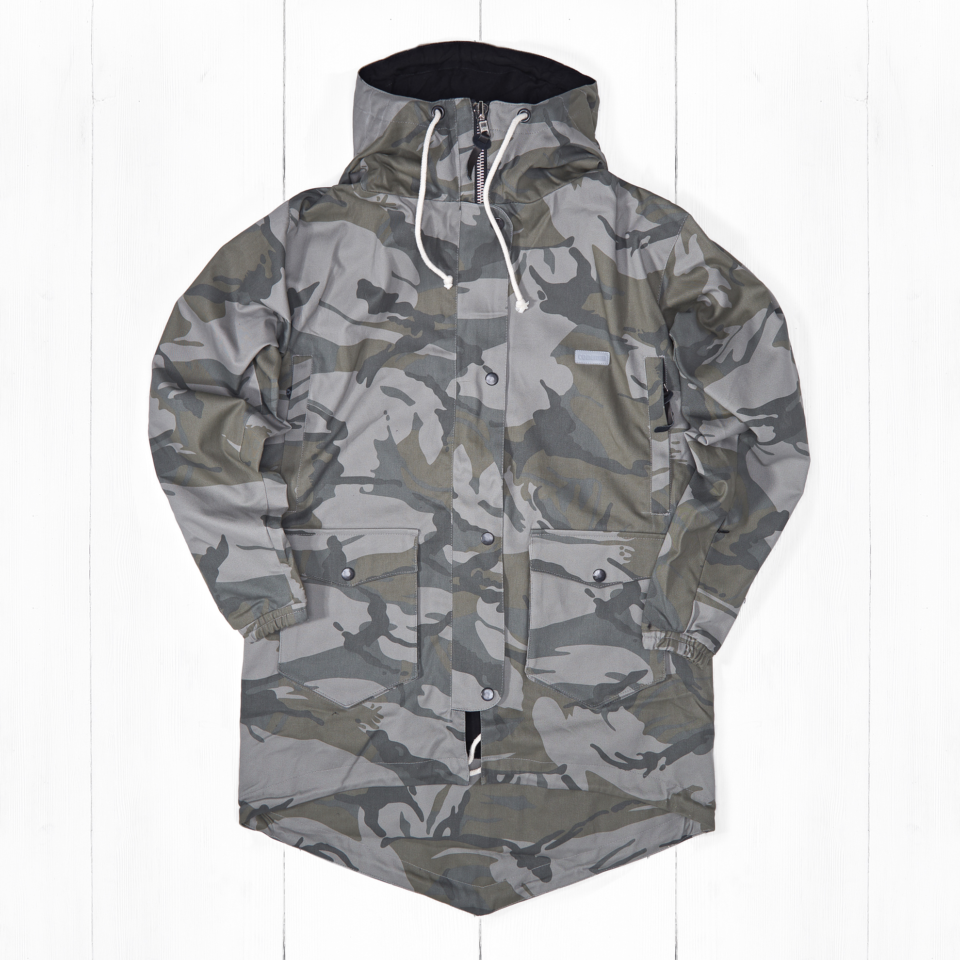 Парка CODERED COVER UP Camo Grey