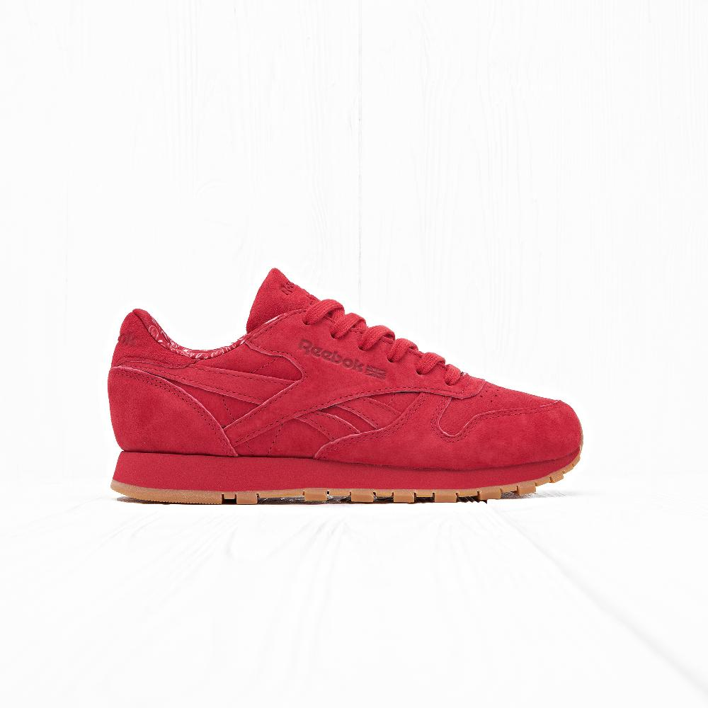 Кроссовки Reebok CLASSIC LEATHER TDC Scarlet/White/Gum