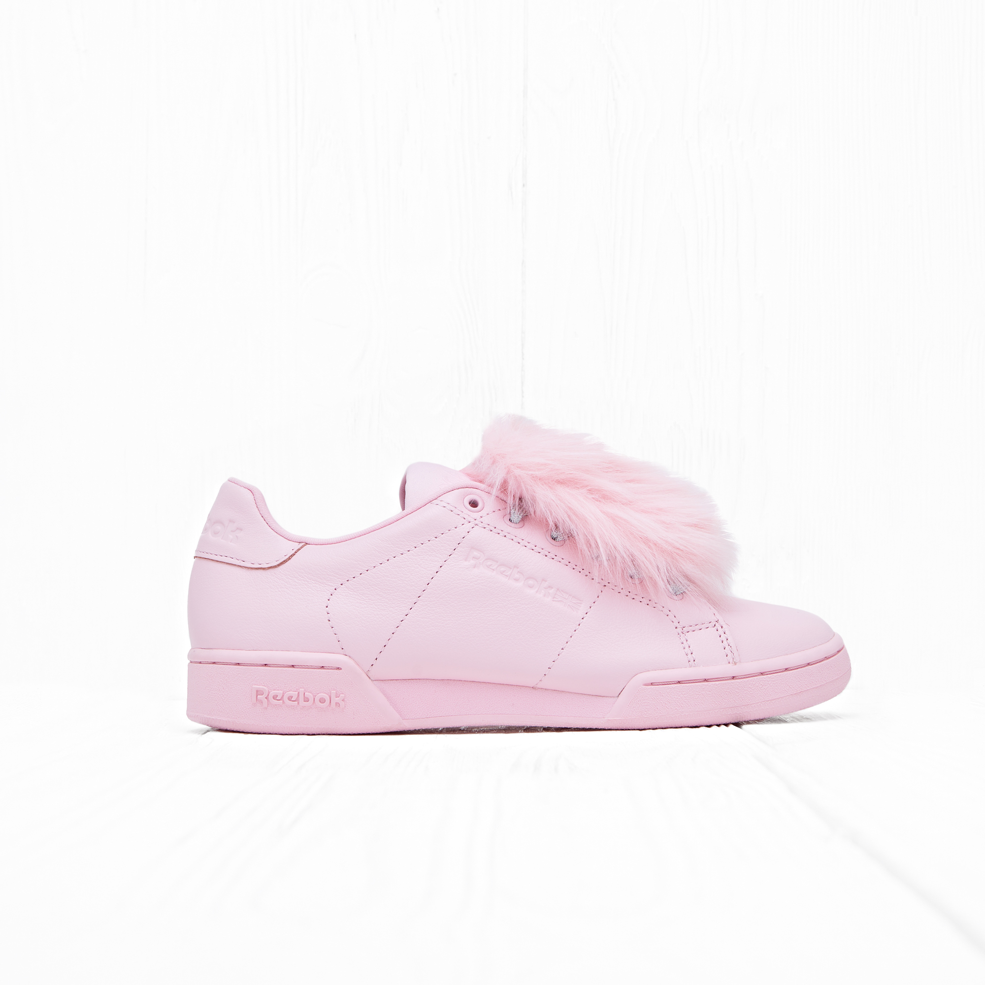 Кроссовки Reebok x Local Heroes NPC II NE Polished Pink/White/Purple/Blue/Celadon/Yellow
