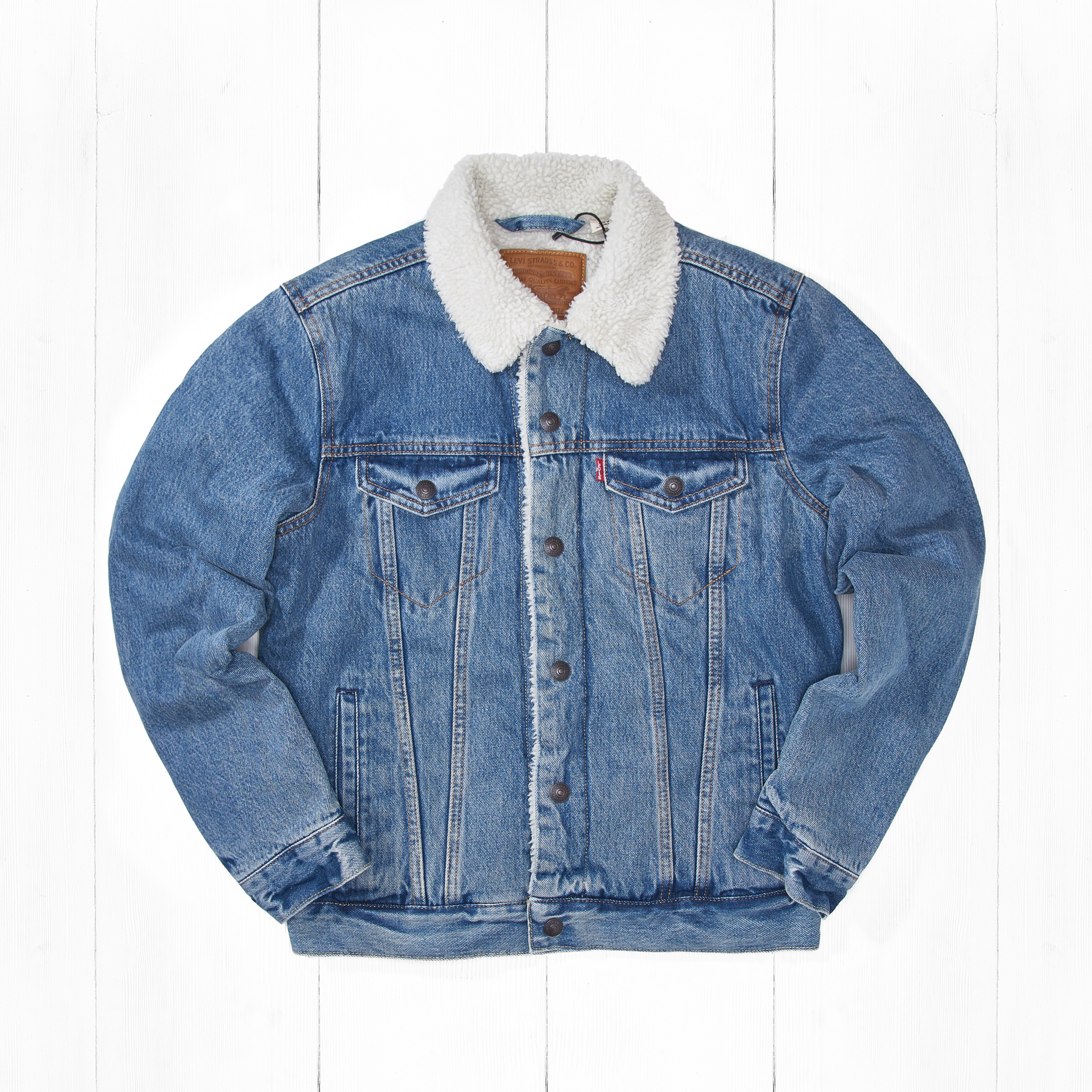 Куртка Levi's THE SHERPA TRUCKER Needle Park