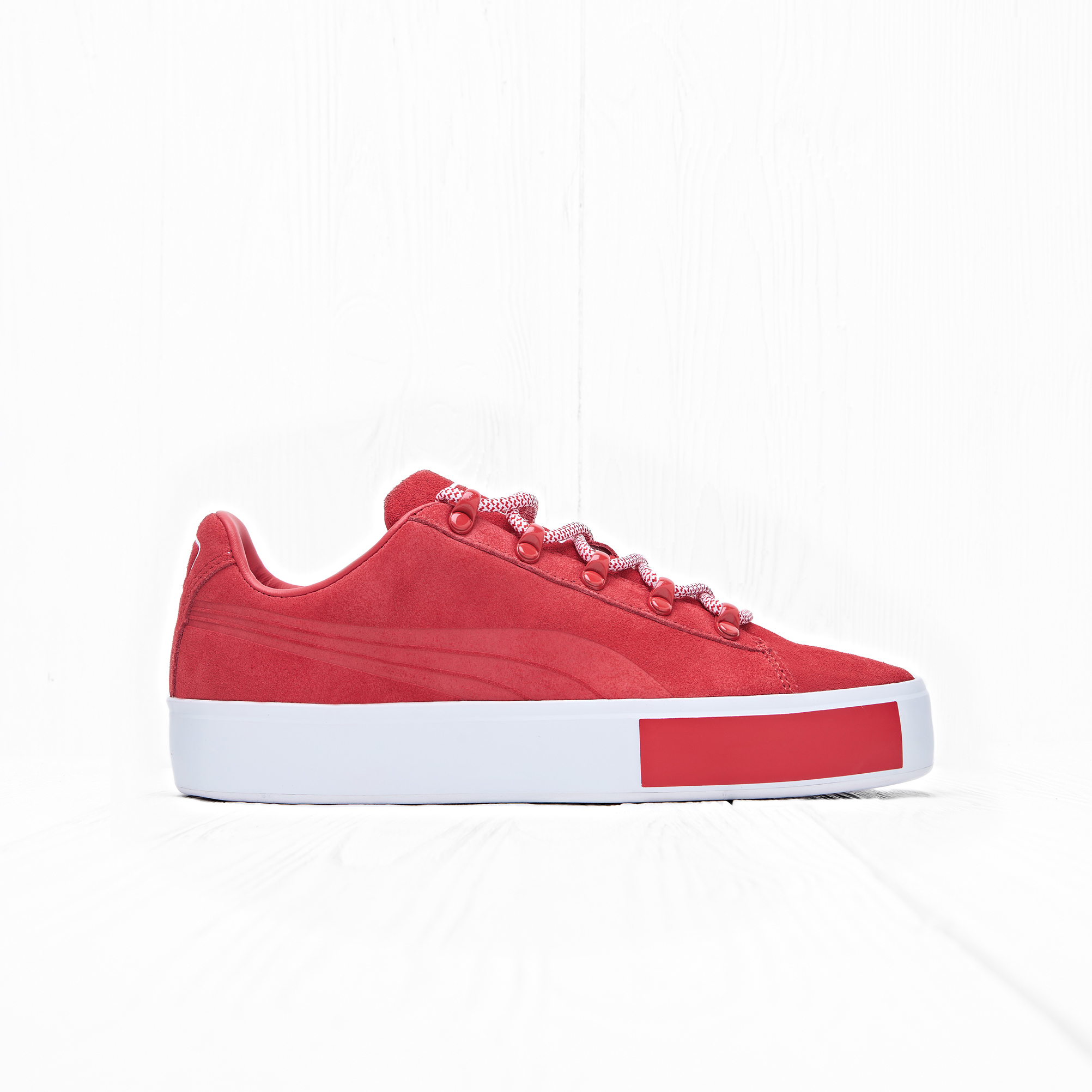 Кроссовки Puma x DP COURT PLATFORM S High Risk Red