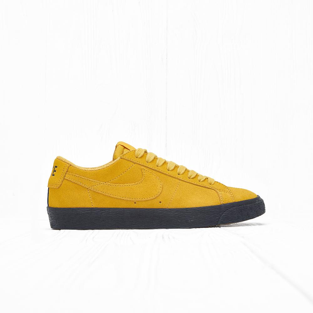 Кроссовки Nike SB ZOOM BLAZER LOW Yellow Ochre/Black/Yellow Ochre