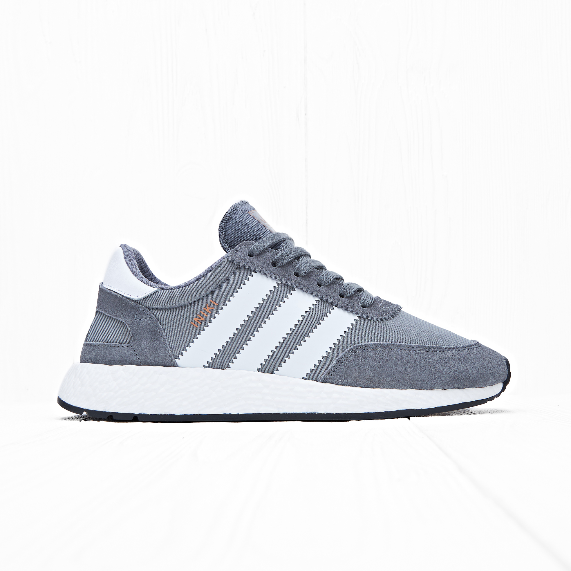 Кроссовки Adidas INIKI RUNNER Vista Grey/Footwear White/Core Black
